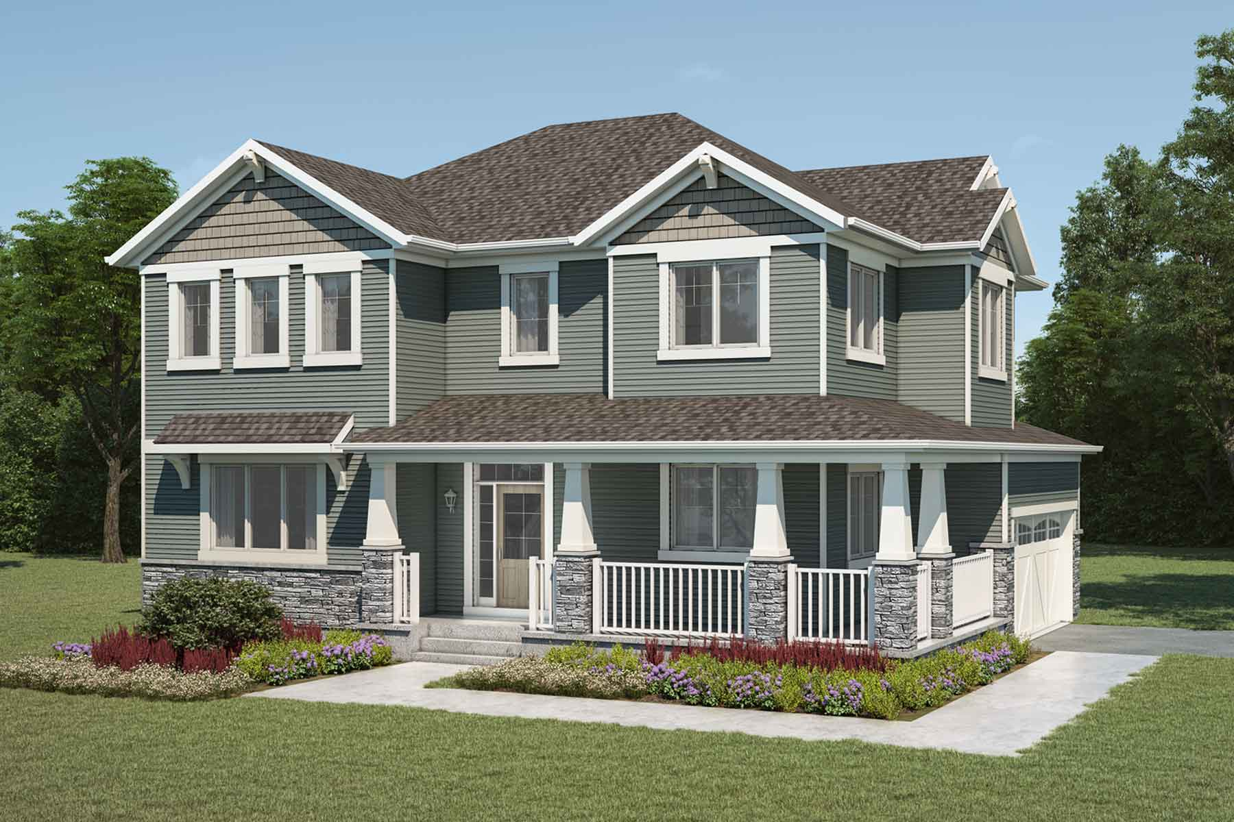 Borgeau Plan craftsman_carrington_borgeau at Carrington in Calgary Alberta by Mattamy Homes
