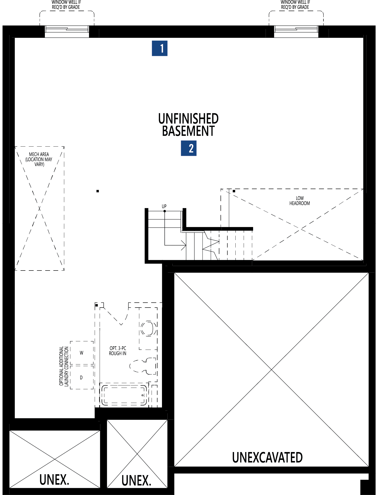 Cline Plan Floor Plan at Carrington in Calgary Alberta by Mattamy Homes