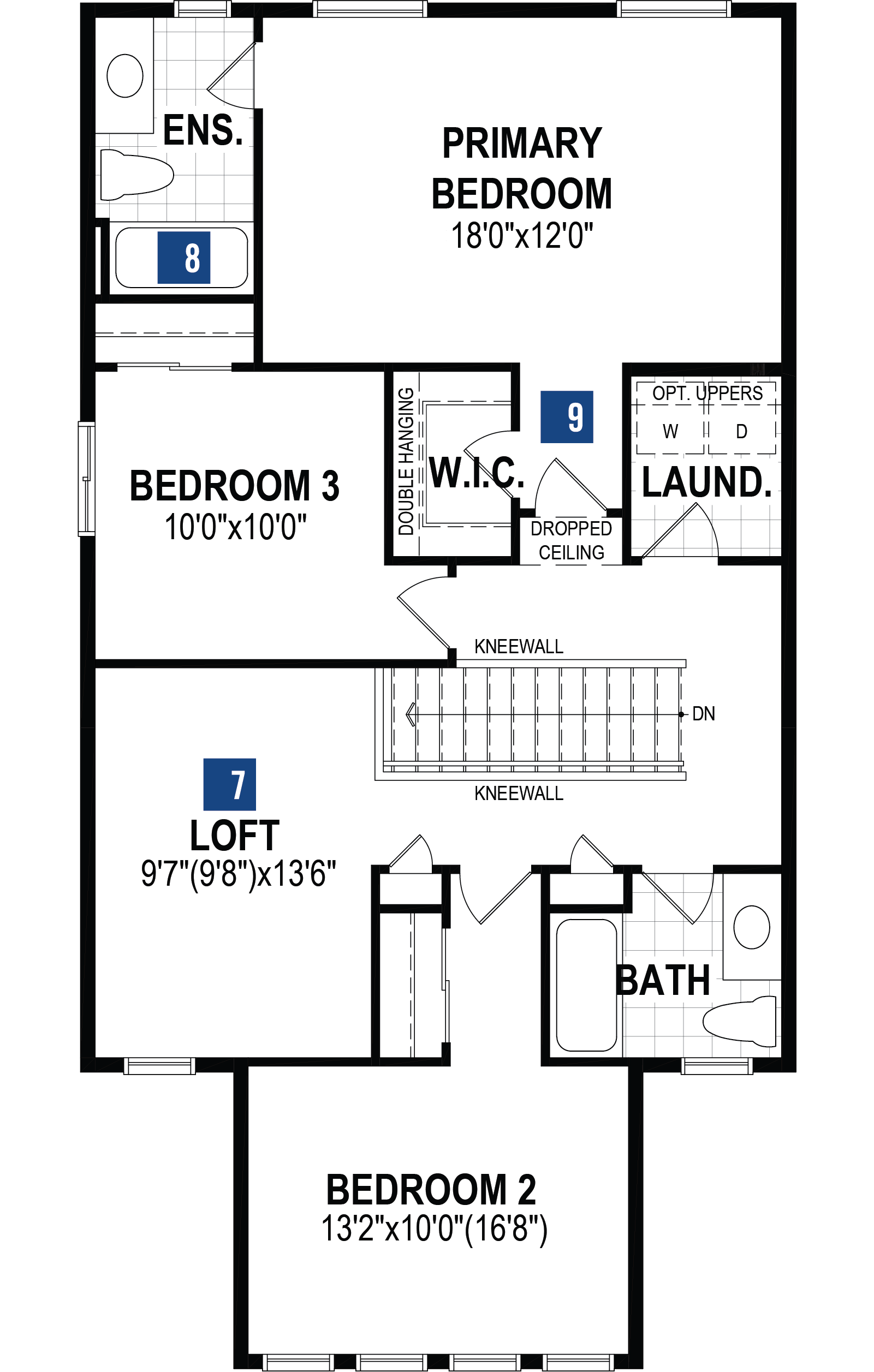 Mission Plan  at Carrington in Calgary Alberta by Mattamy Homes