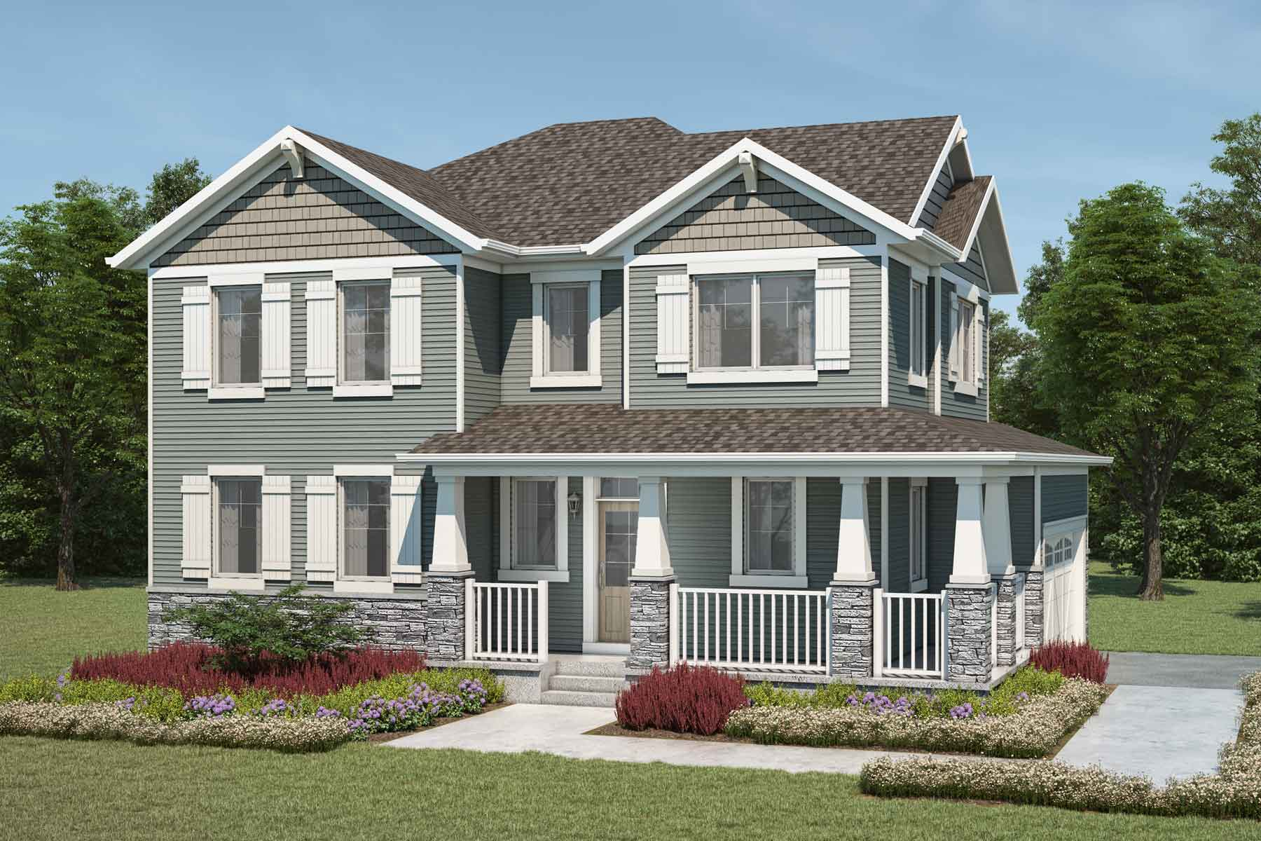 Monarch Plan craftsman_carrington_monarch at Carrington in Calgary Alberta by Mattamy Homes