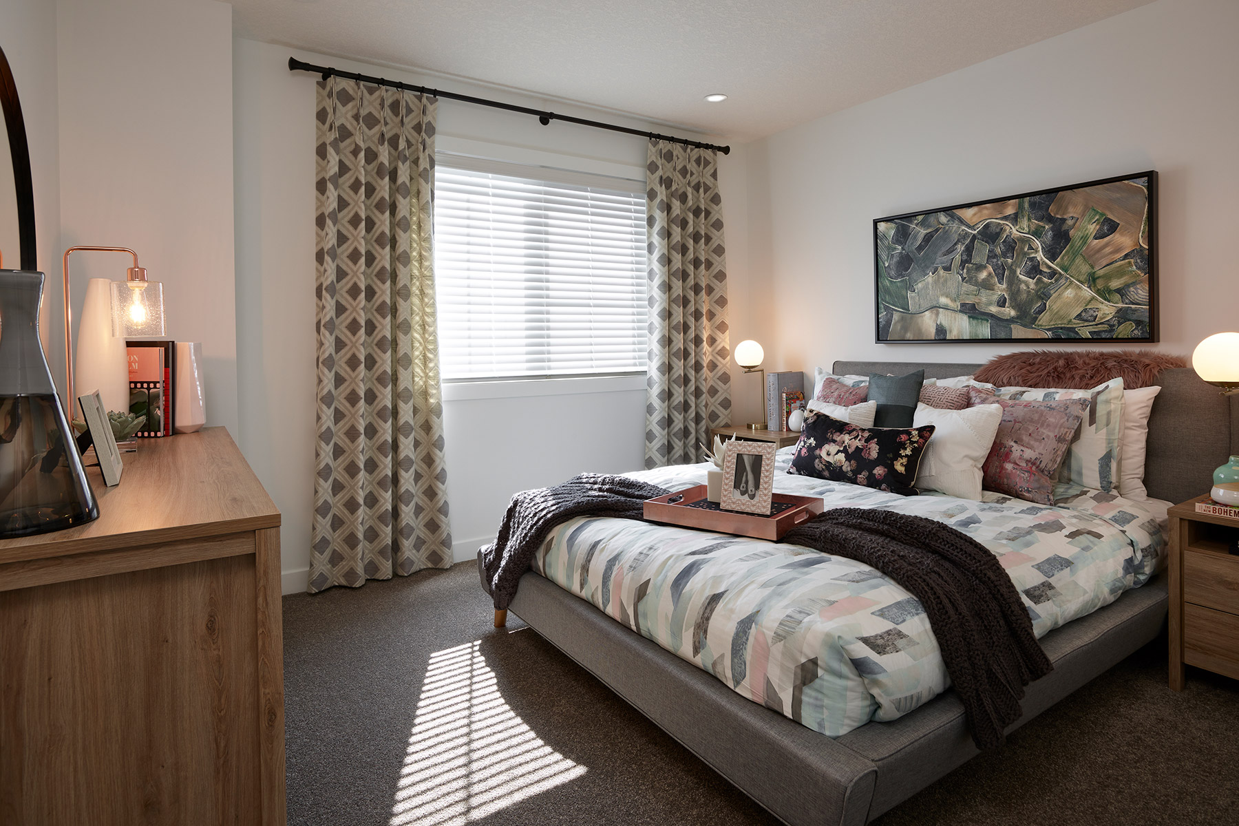 Palliser Plan Bedroom at Carrington in Calgary Alberta by Mattamy Homes