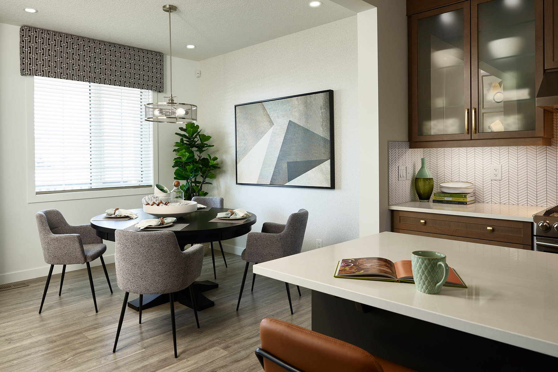 Palliser Plan Breakfast at Carrington in Calgary Alberta by Mattamy Homes