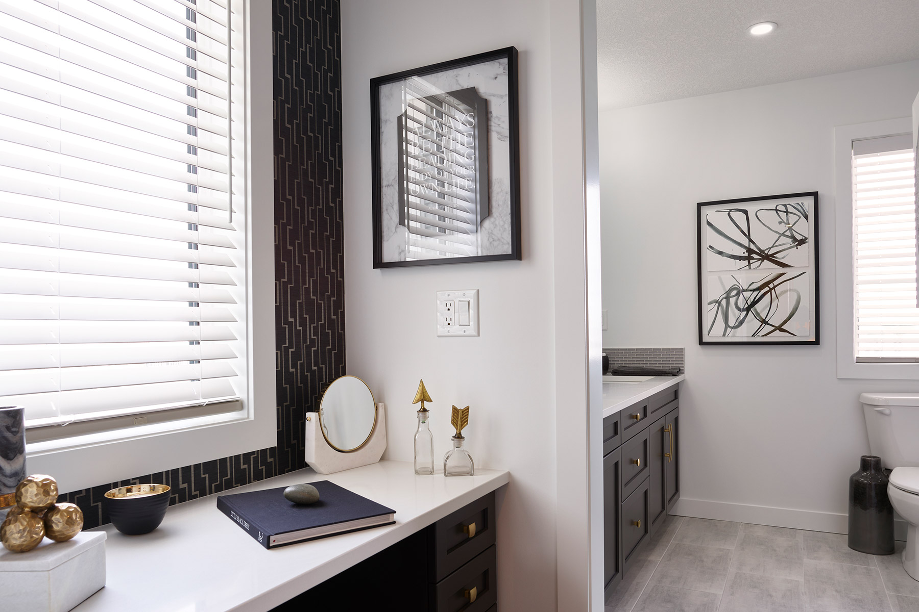 Palliser Plan Bathroom_Master Bath at Carrington in Calgary Alberta by Mattamy Homes