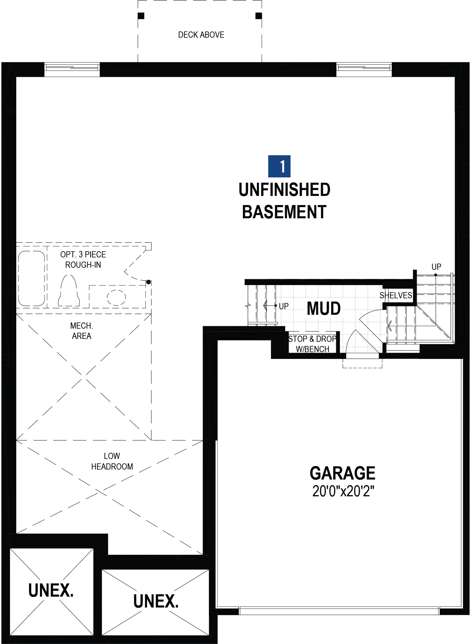 Ptarmigan Plan Floor Plan at Carrington in Calgary Alberta by Mattamy Homes