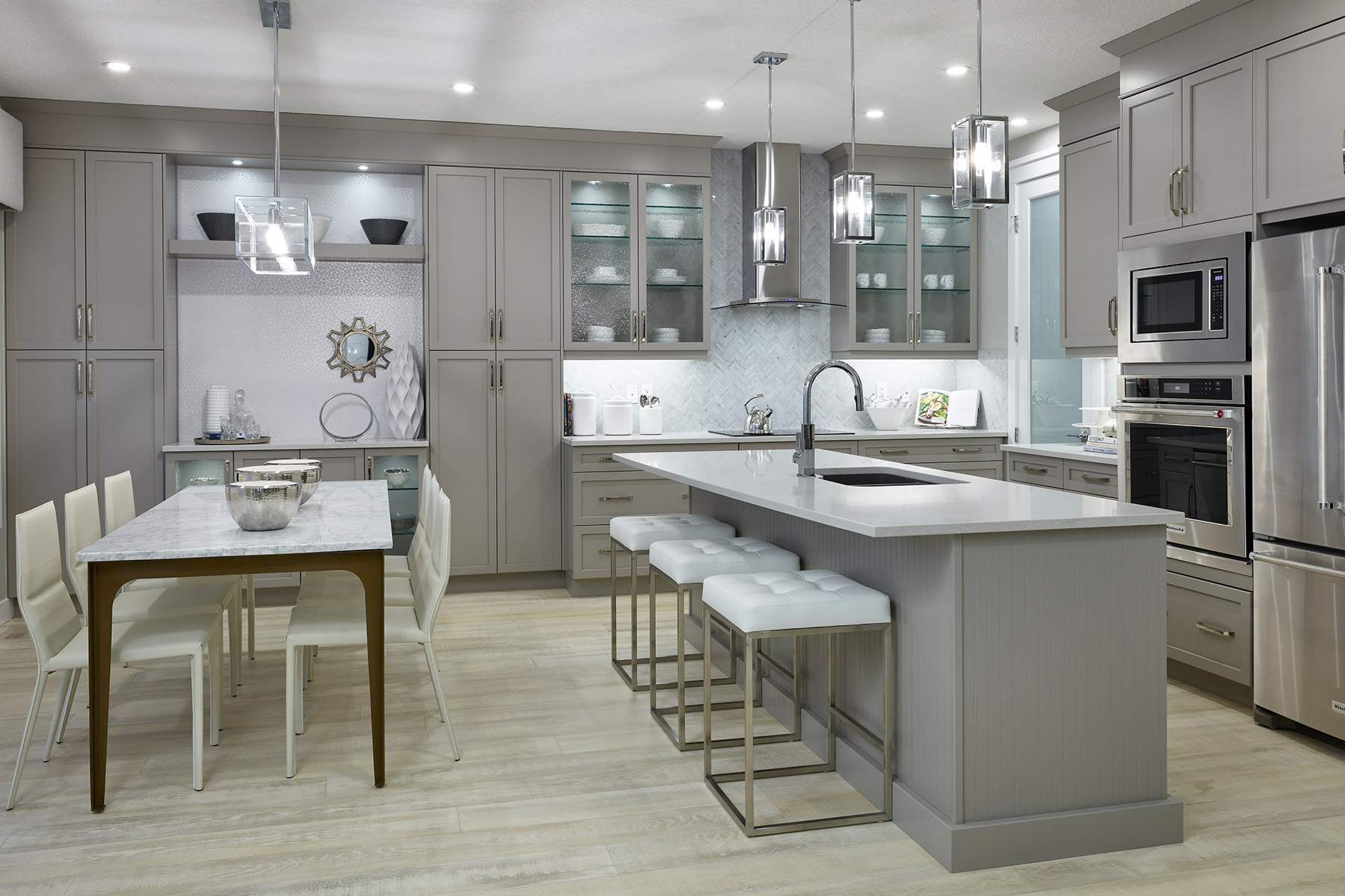 Riedel Plan Kitchen at Cityscape in Calgary Alberta by Mattamy Homes