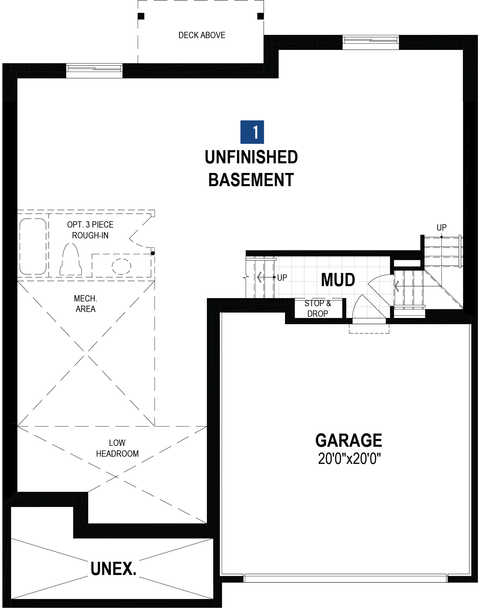 Rutherford Plan Floor Plan at Carrington in Calgary Alberta by Mattamy Homes