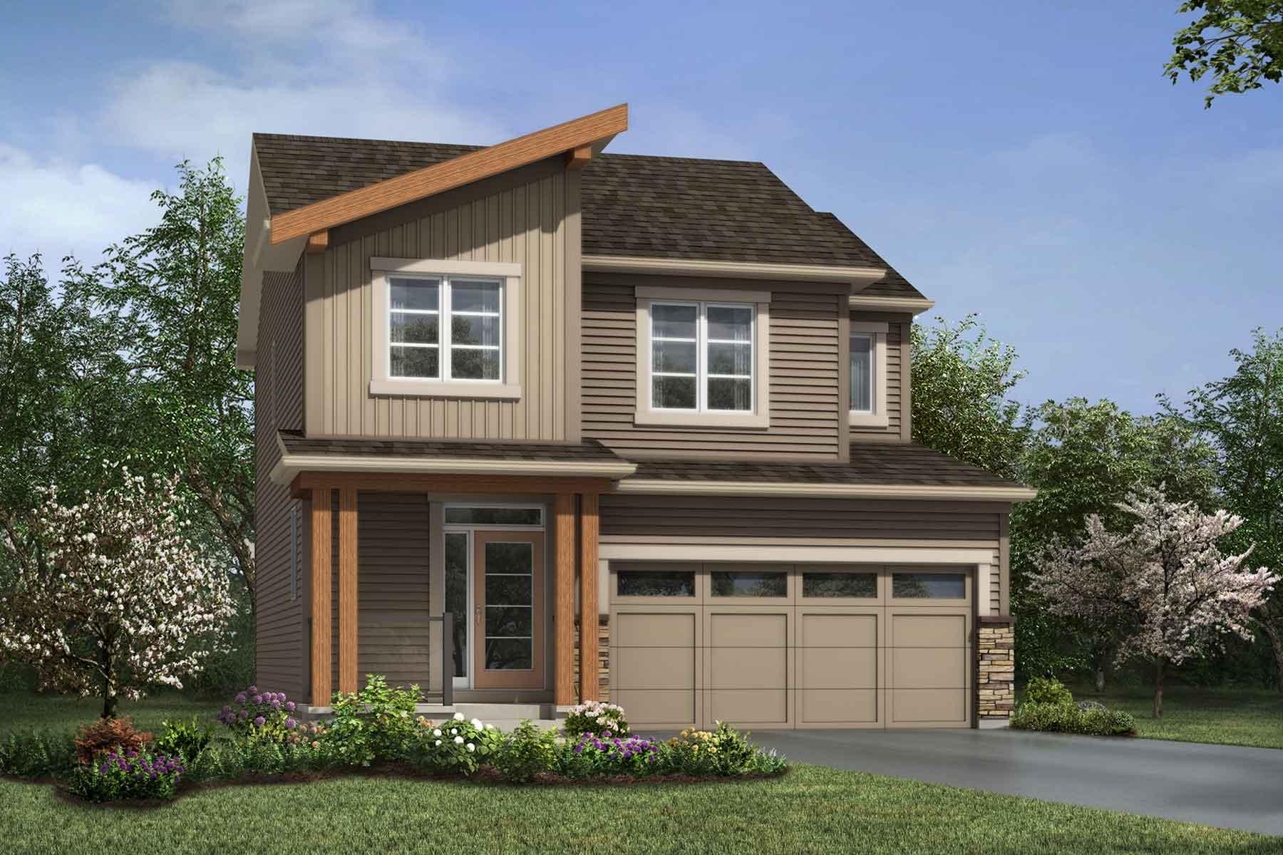 Yamnuska Plan elevationmountaincontemporary_carrington_yamnuska_main at Carrington in Calgary Alberta by Mattamy Homes