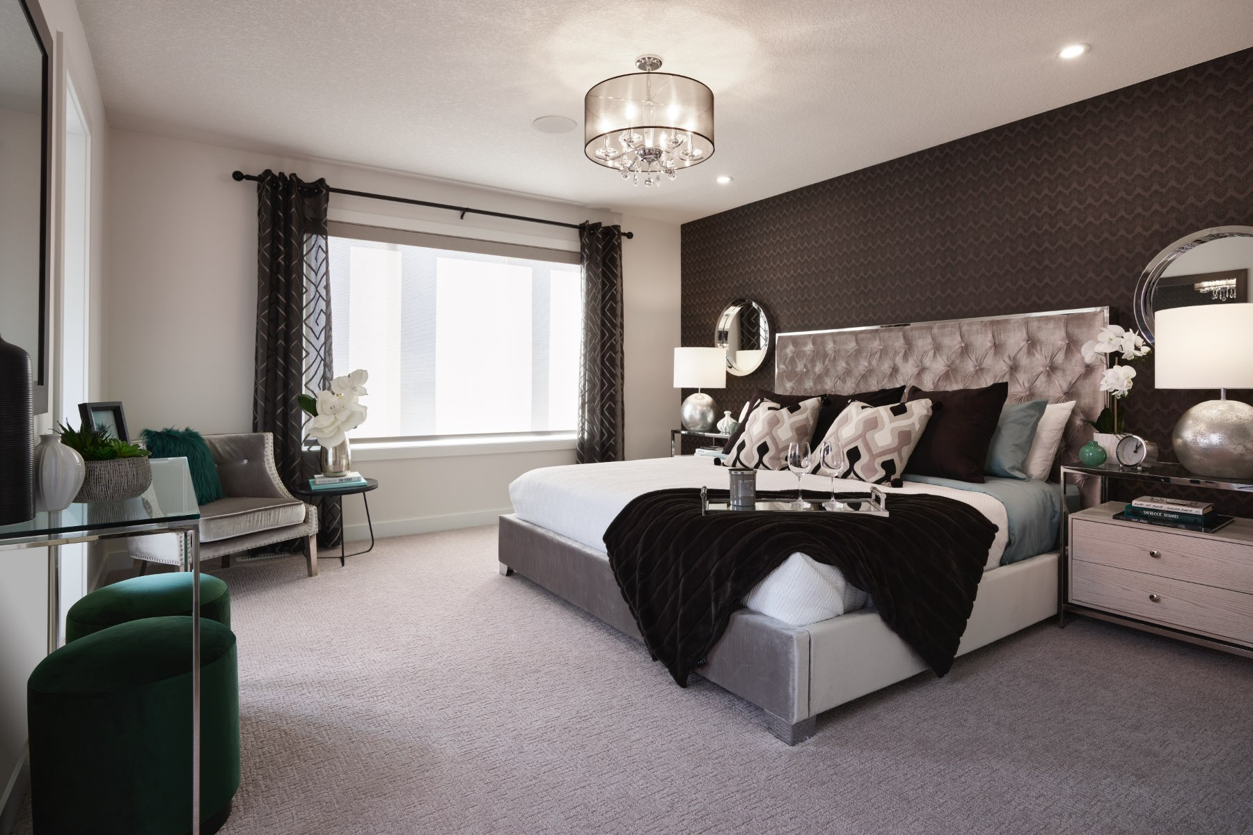 Fairview Plan Bedroom at Cityscape in Calgary Alberta by Mattamy Homes