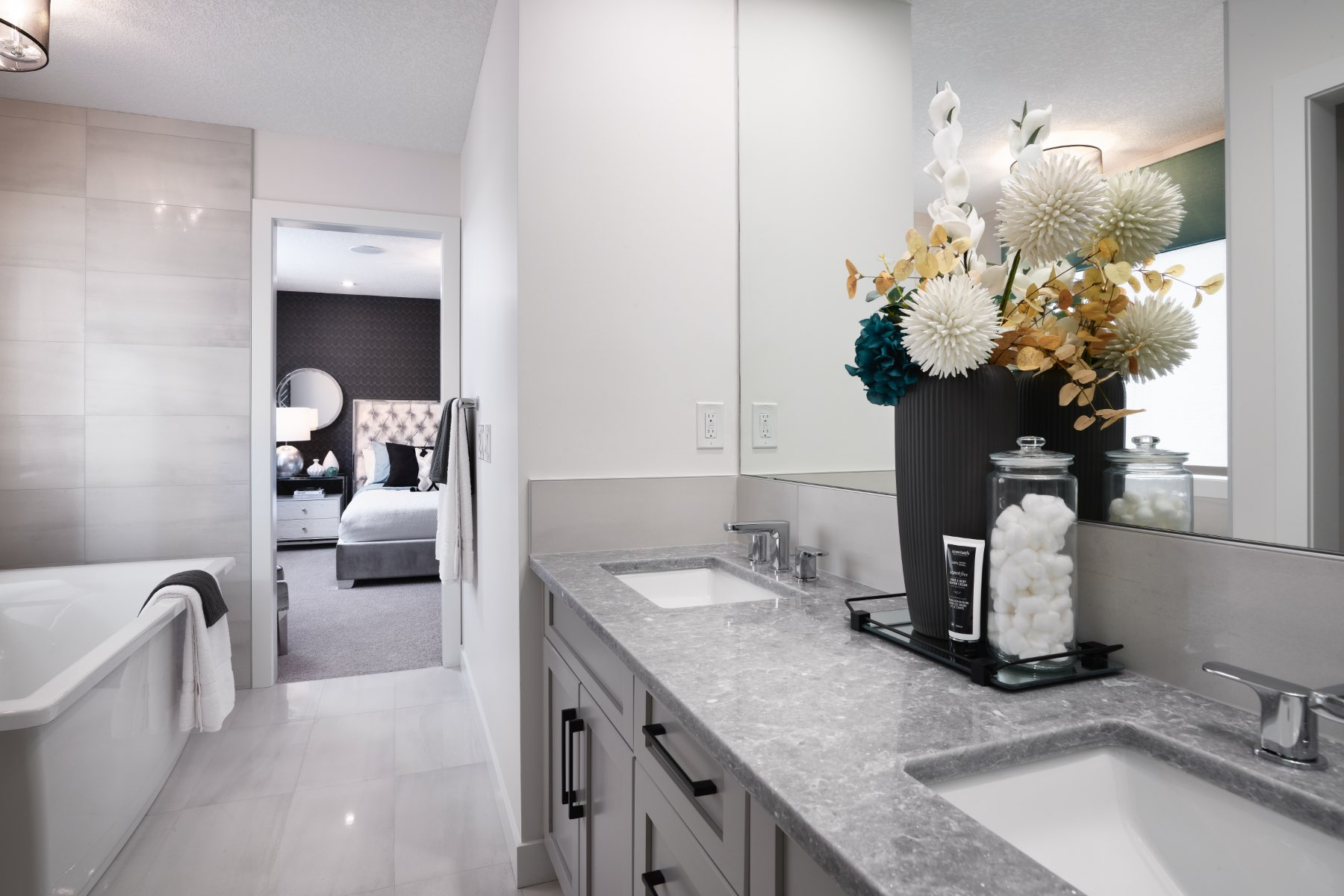 Fairview Plan Bath at Cityscape in Calgary Alberta by Mattamy Homes