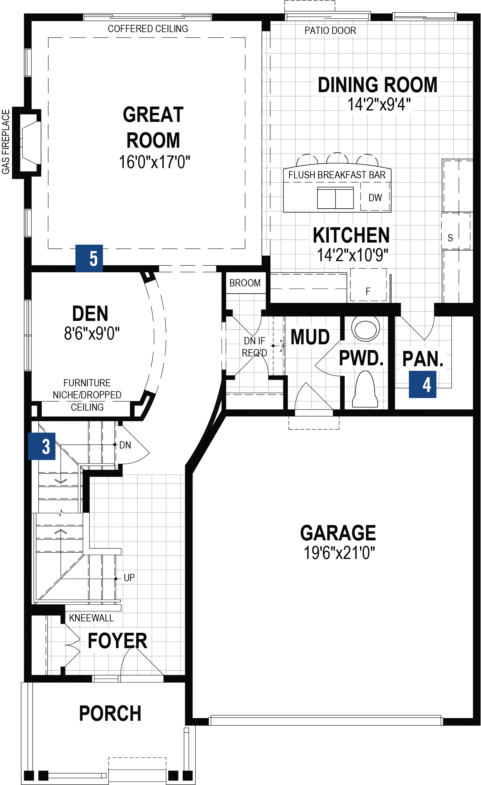 Jade Plan Floor Plan at Cityscape in Calgary Alberta by Mattamy Homes
