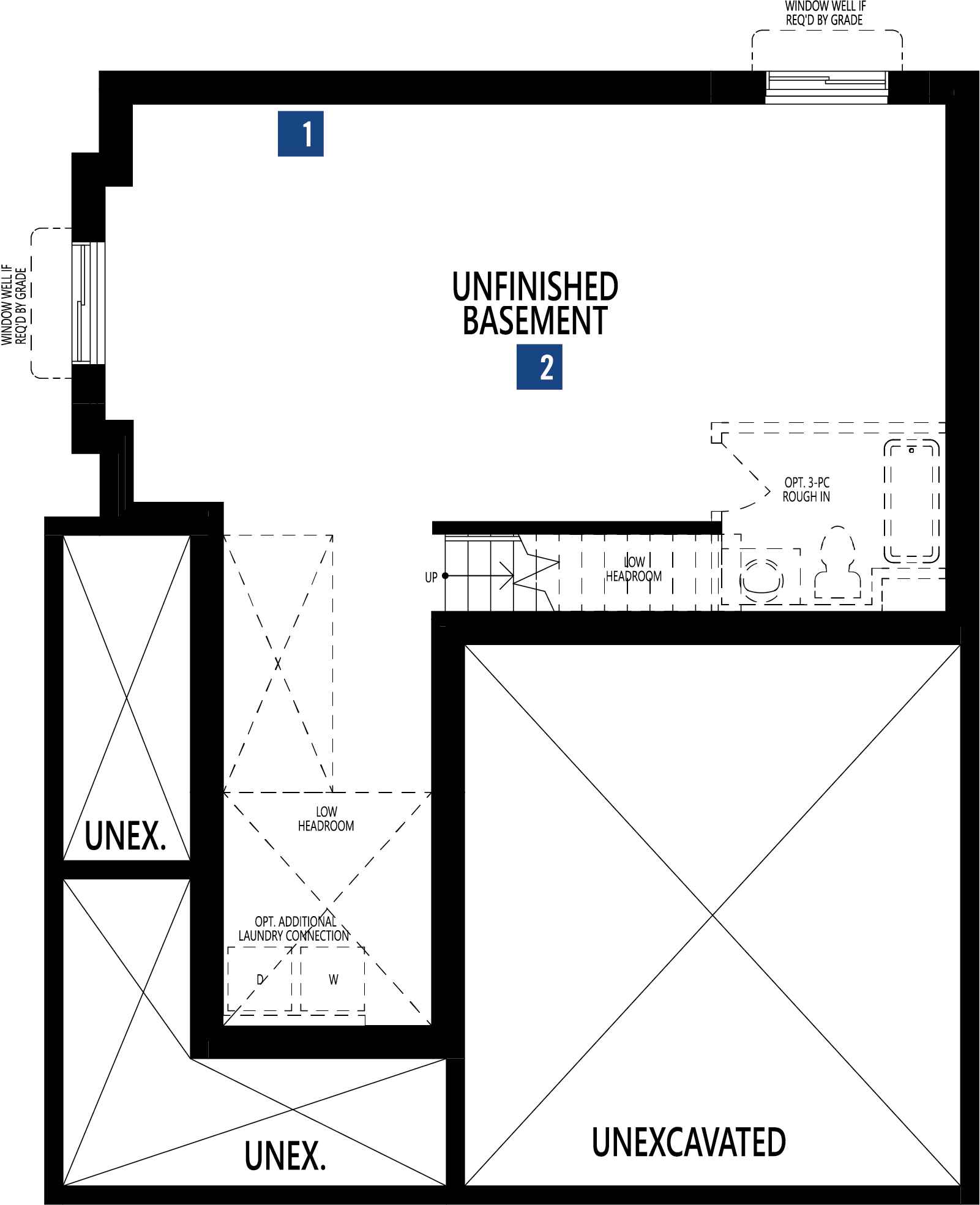 Monarch Plan Floor Plan at Cityscape in Calgary Alberta by Mattamy Homes