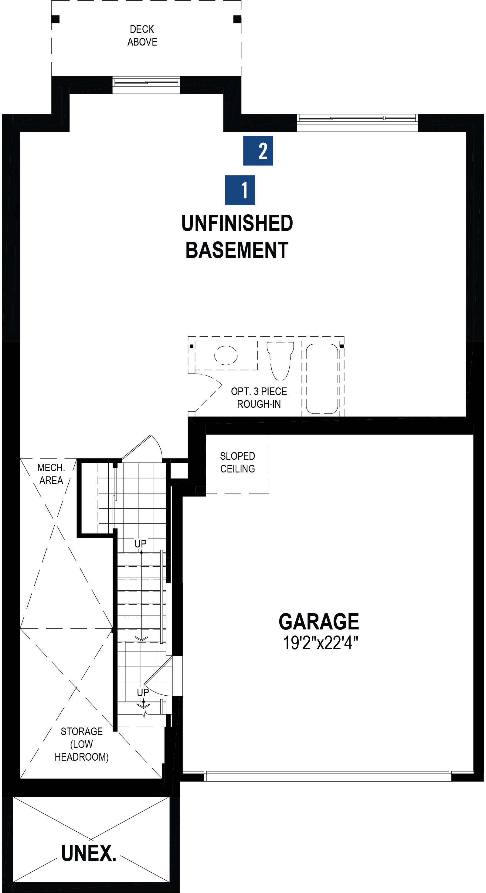 Onyx Plan  at Cityscape in Calgary Alberta by Mattamy Homes