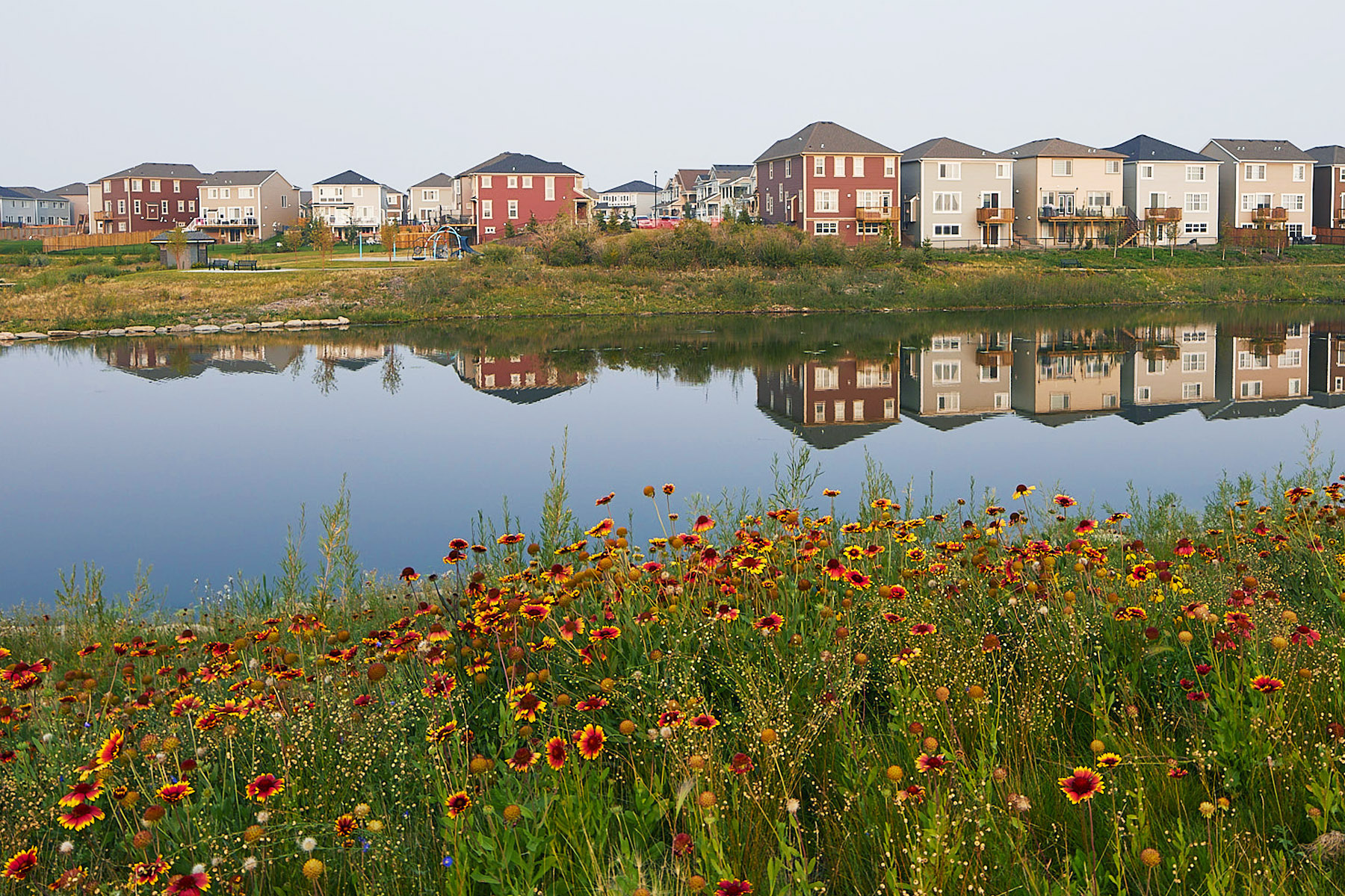 Southwinds WaterFeatures in Airdrie Alberta by Mattamy Homes