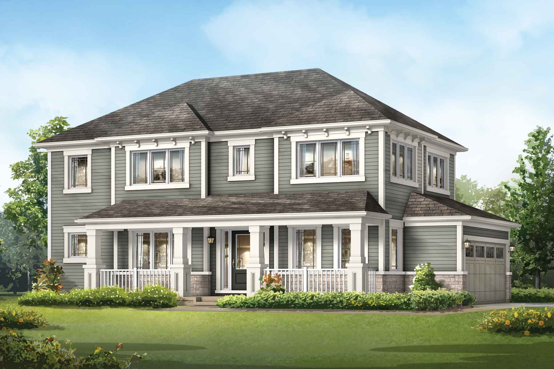 Kingsley Corner Plan elevationb_southwinds_kingsleycorner at Southwinds in Airdrie Alberta by Mattamy Homes