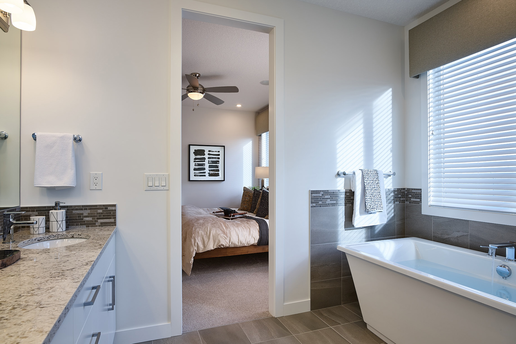 Hudson Plan  at The Enclave In Carrington in Calgary Alberta by Mattamy Homes