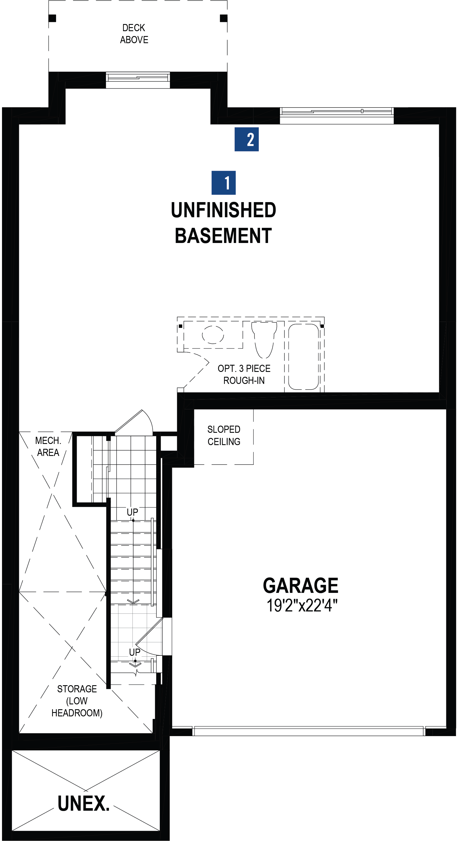 Onyx Plan  at The Enclave In Carrington in Calgary Alberta by Mattamy Homes