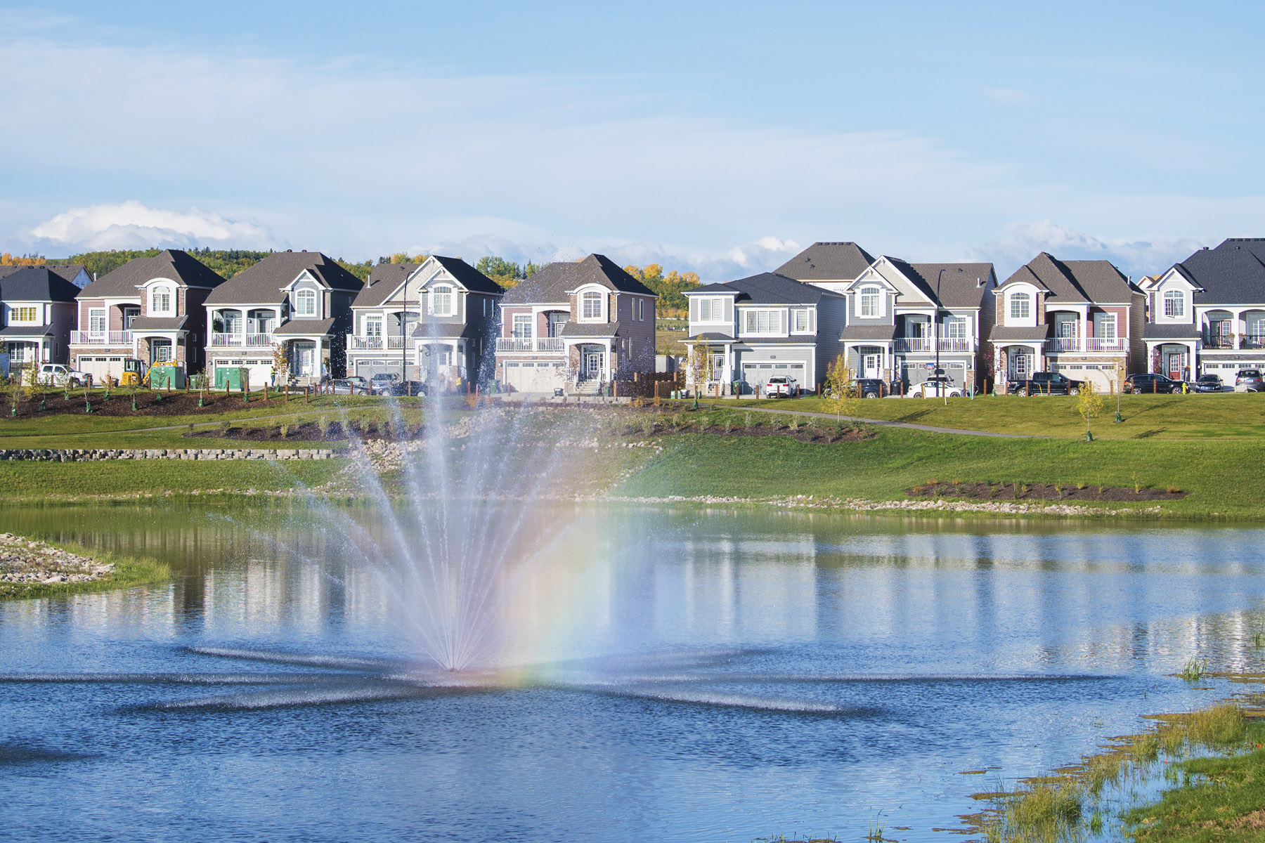 Yorkville WaterFeatures in Calgary Alberta by Mattamy Homes