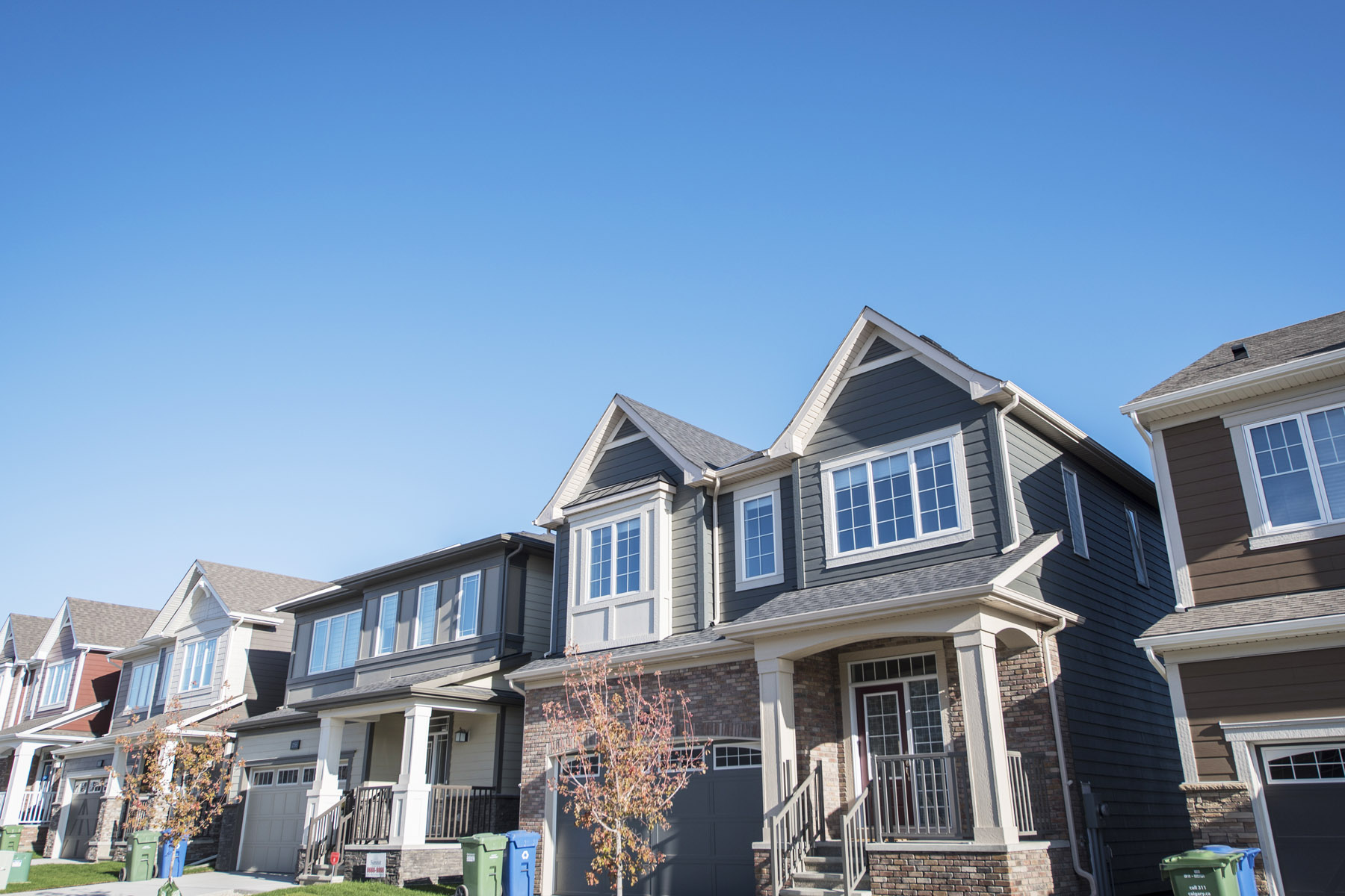 Yorkville Elevation Front in Calgary Alberta by Mattamy Homes