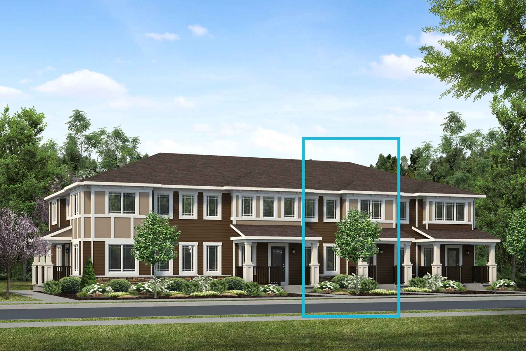 Annex Plan elevationprairie_yorkville_annex at Yorkville in Calgary Alberta by Mattamy Homes