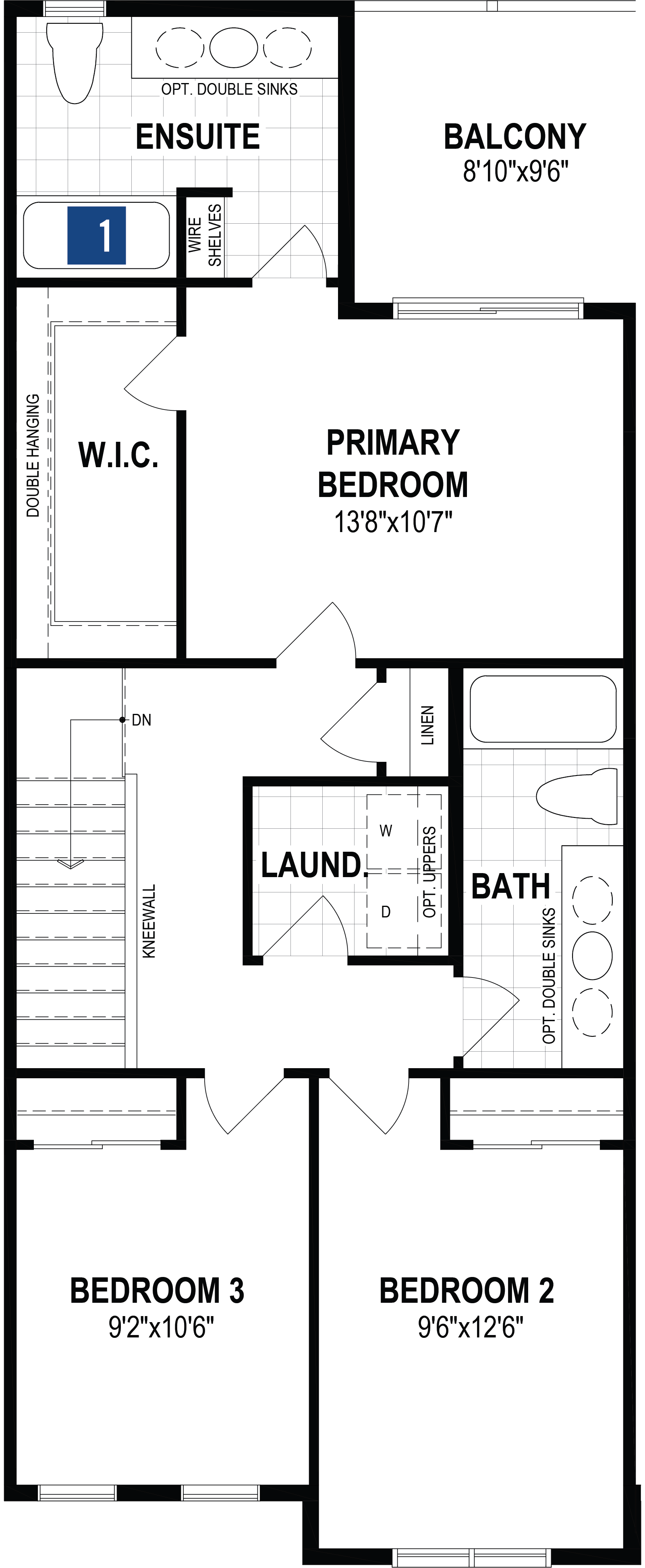 Annex Plan Floor Plan at Yorkville in Calgary Alberta by Mattamy Homes