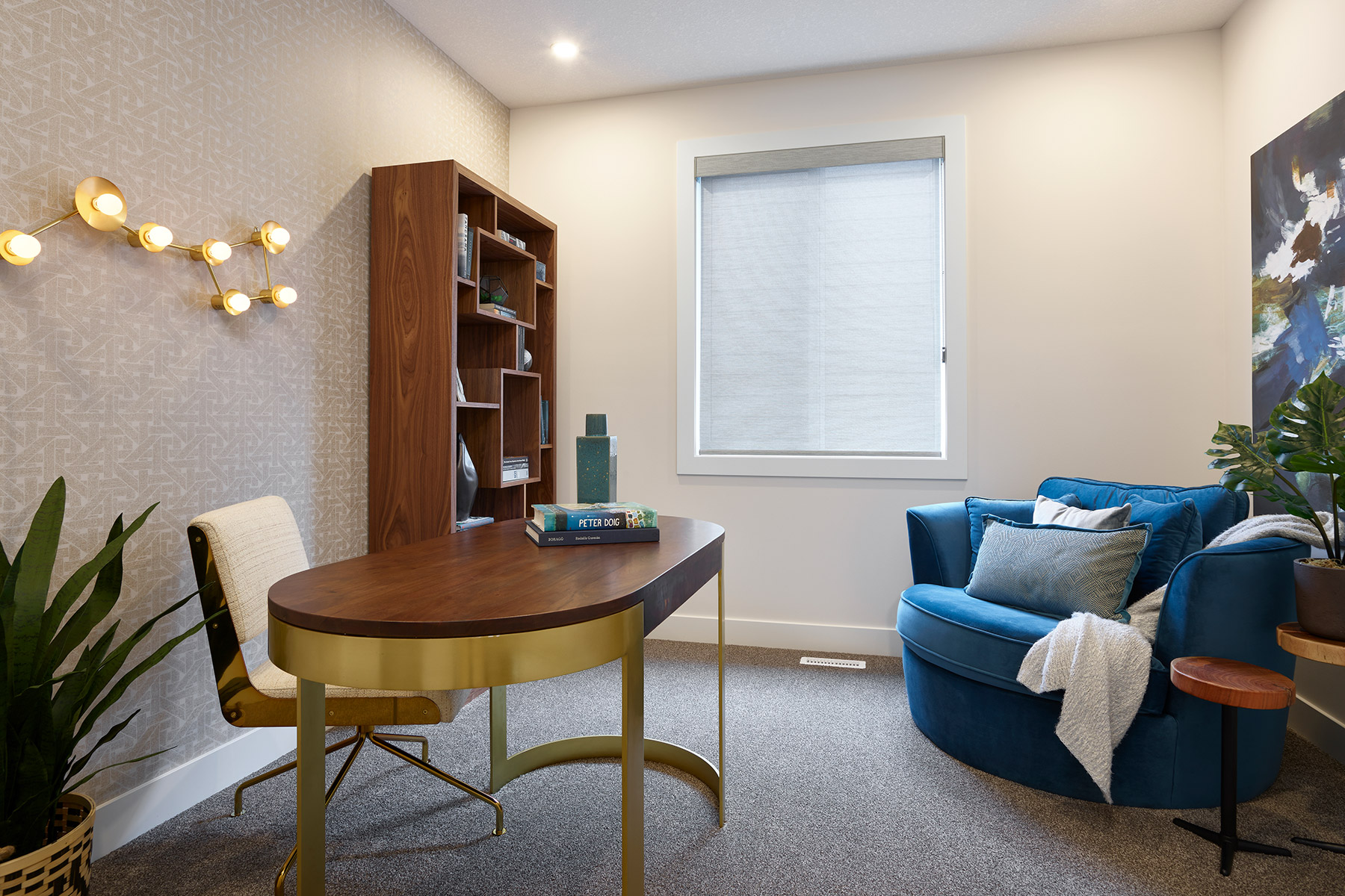 Onyx Plan Study Room at Yorkville in Calgary Alberta by Mattamy Homes