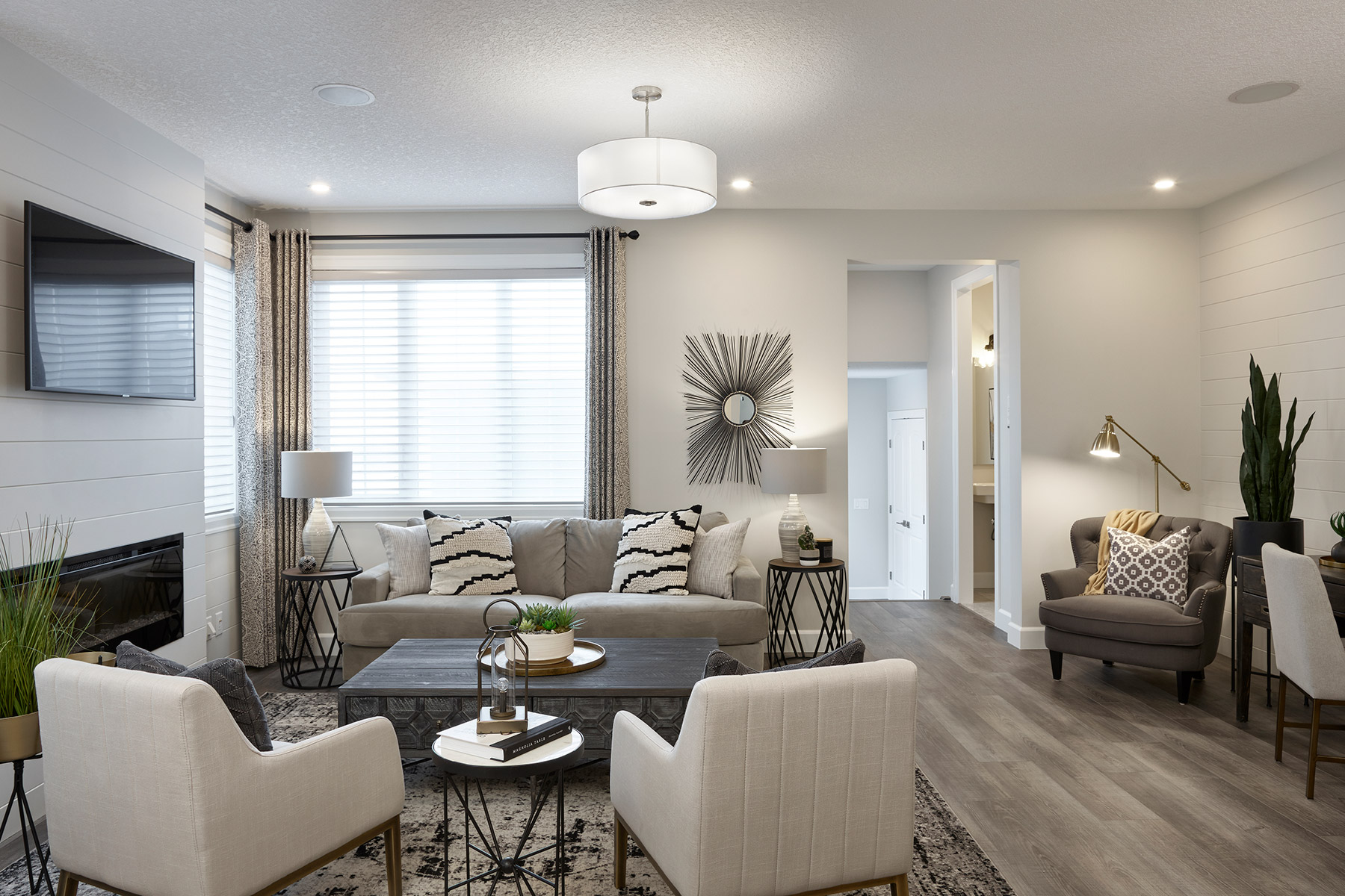 Palliser Plan Greatroom at Yorkville in Calgary Alberta by Mattamy Homes