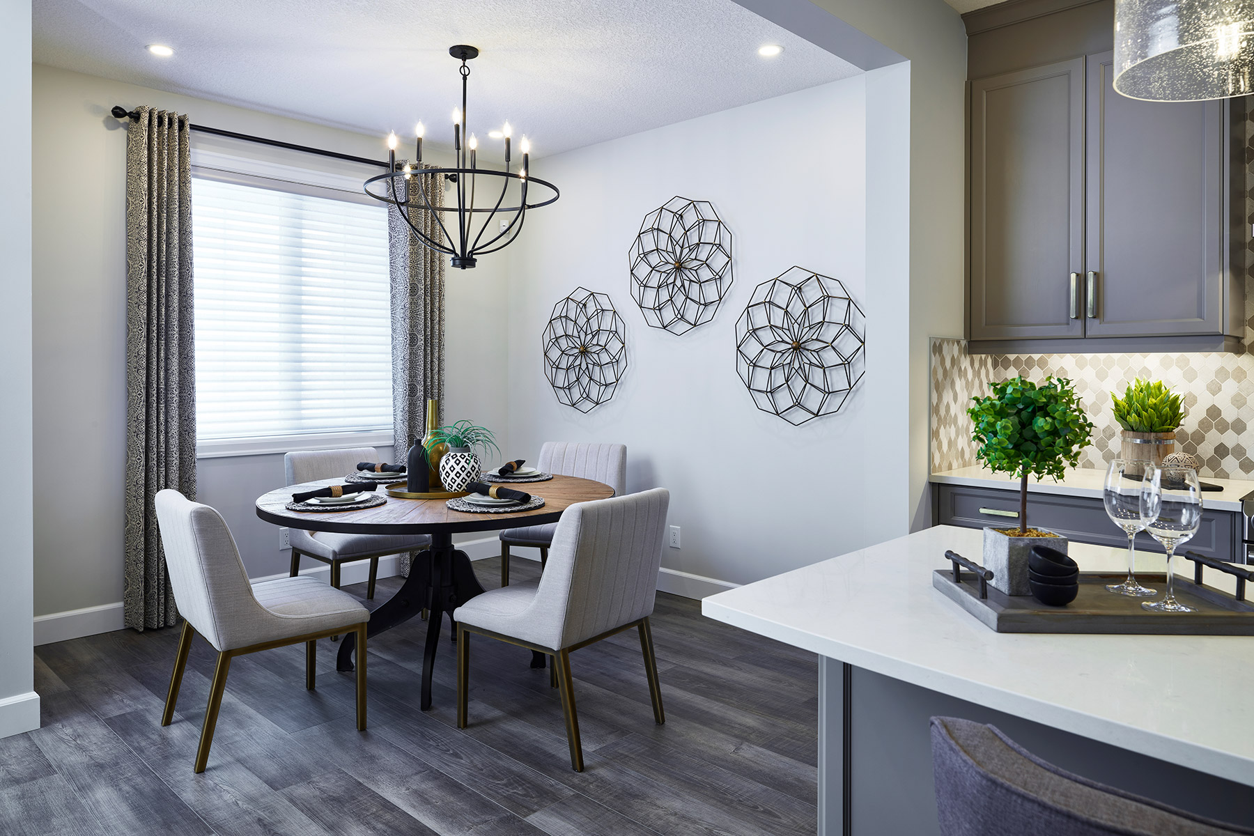 Palliser Plan Breakfast at Yorkville in Calgary Alberta by Mattamy Homes