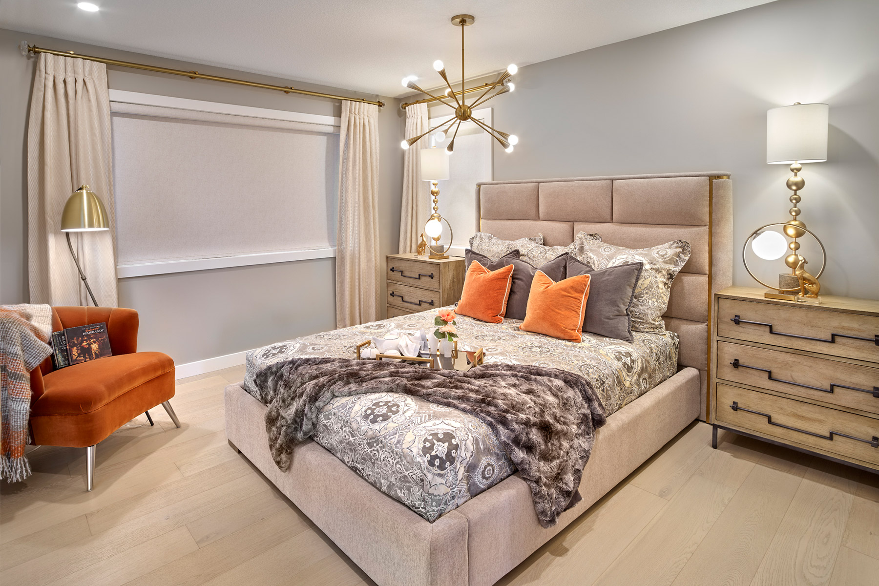 Eclipse Corner Plan Bedroom at Crescent Trails in Edmonton Alberta by Mattamy Homes