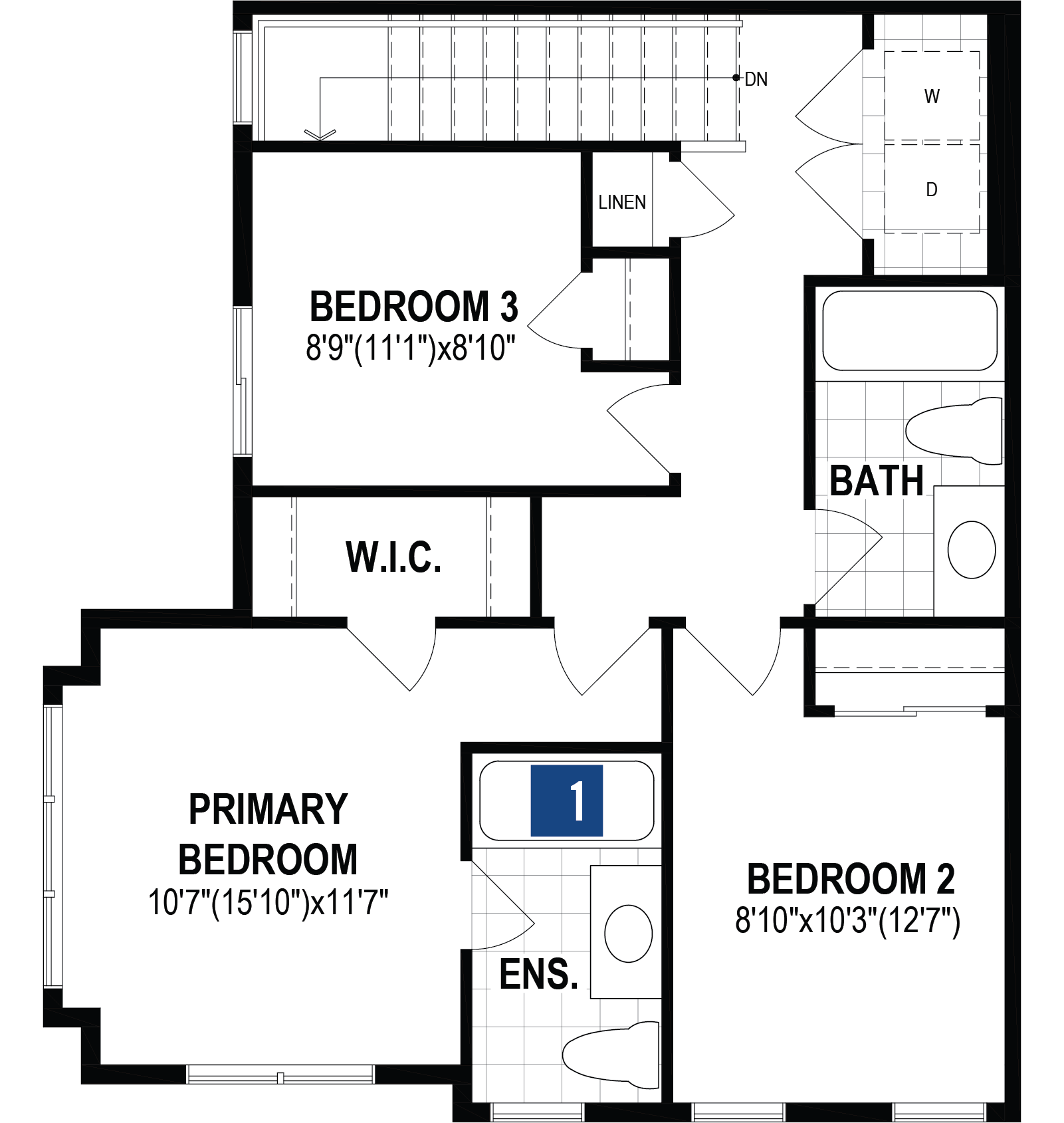 Alize Corner Plan Floor Plan at Stillwater in Edmonton Alberta by Mattamy Homes