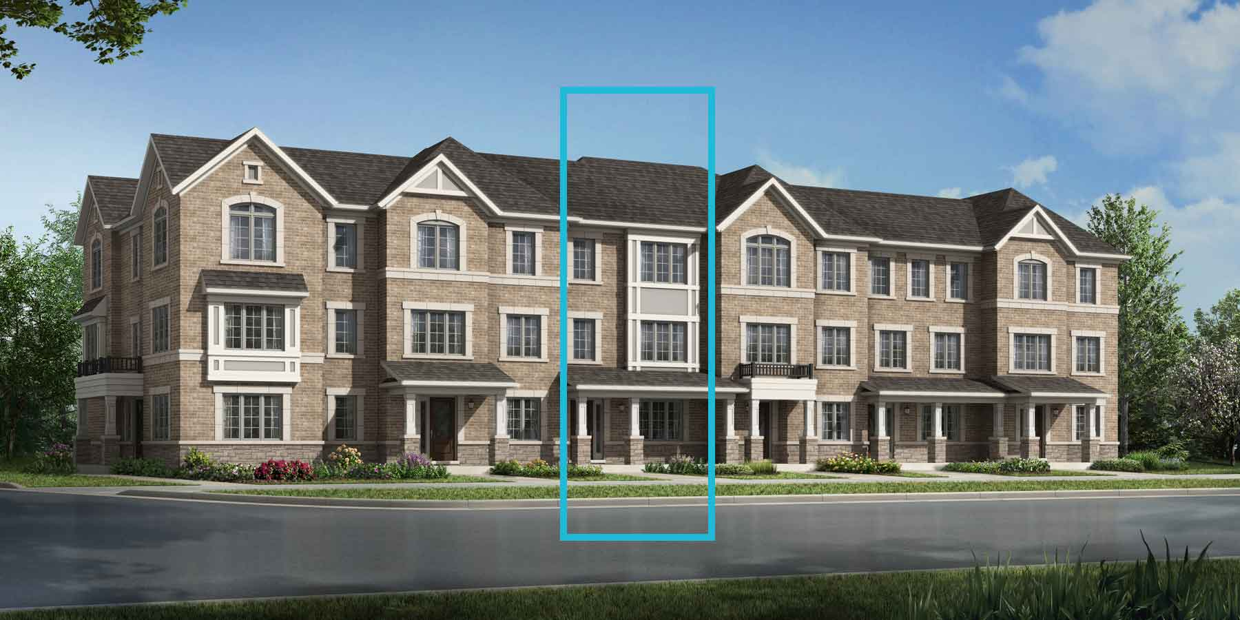 Denmar Plan TownHomes at Seaton Whitevale in Pickering Ontario by Mattamy Homes