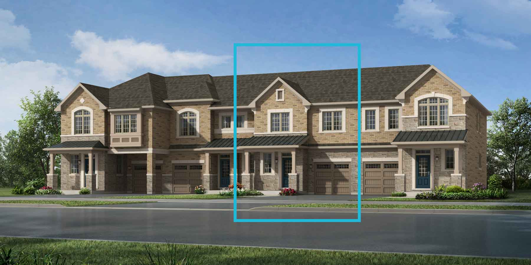 Forestbrook Plan englishmanor_seatonwhitevale_forestbrook at Seaton Whitevale in Pickering Ontario by Mattamy Homes