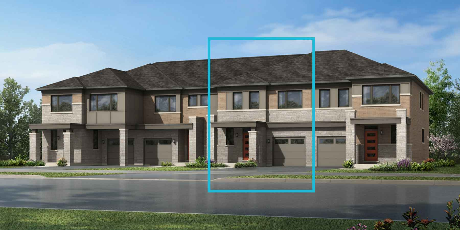 Forestbrook Plan modern_seatonwhitevale_forestbrook at Seaton Whitevale in Pickering Ontario by Mattamy Homes