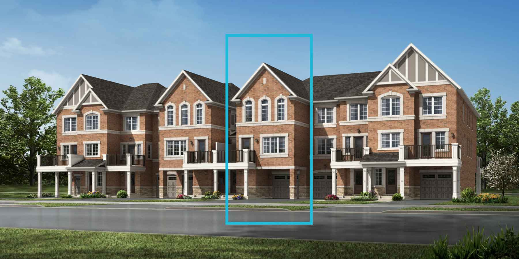 Rossland Plan traditional_seatonwhitevale_rossland_main at Seaton Whitevale in Pickering Ontario by Mattamy Homes