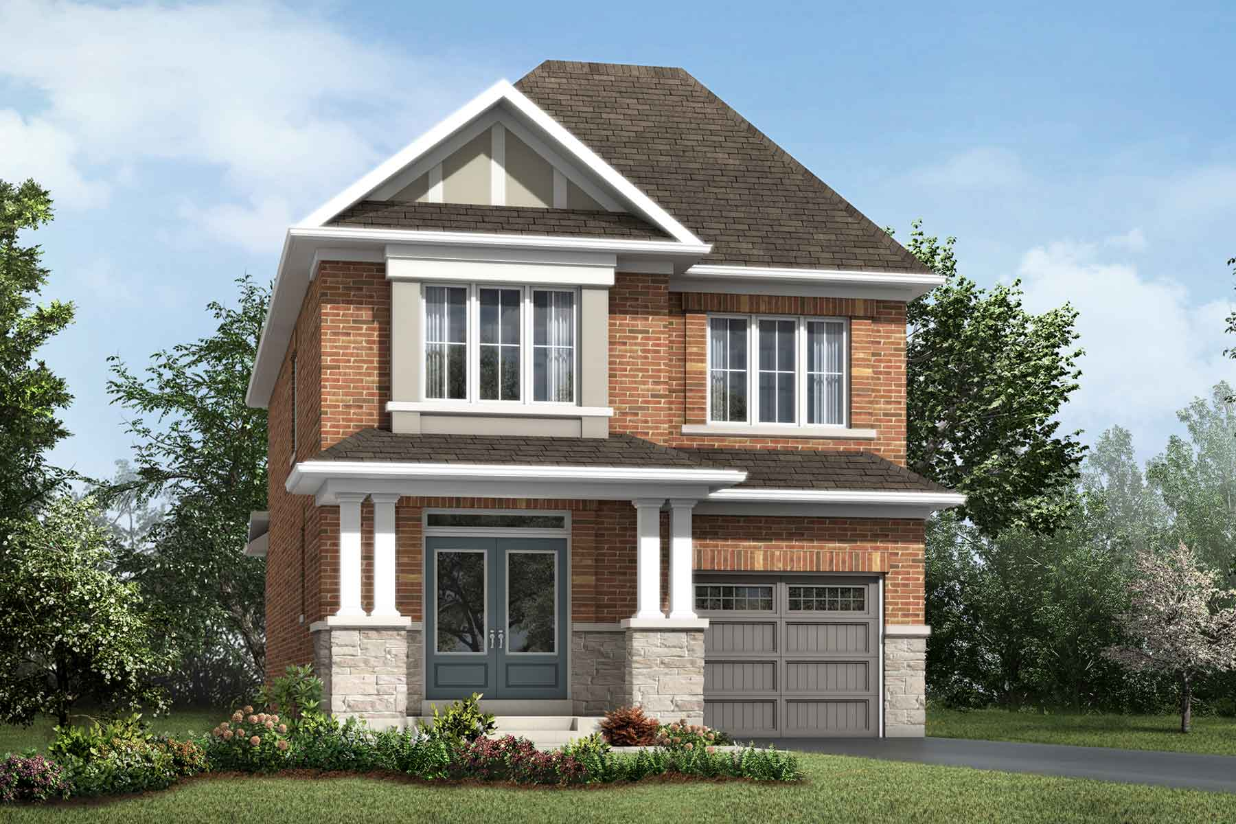 Holbrook Plan ElevationTraditional_Soleil_Holbrook at Soleil in Milton Ontario by Mattamy Homes