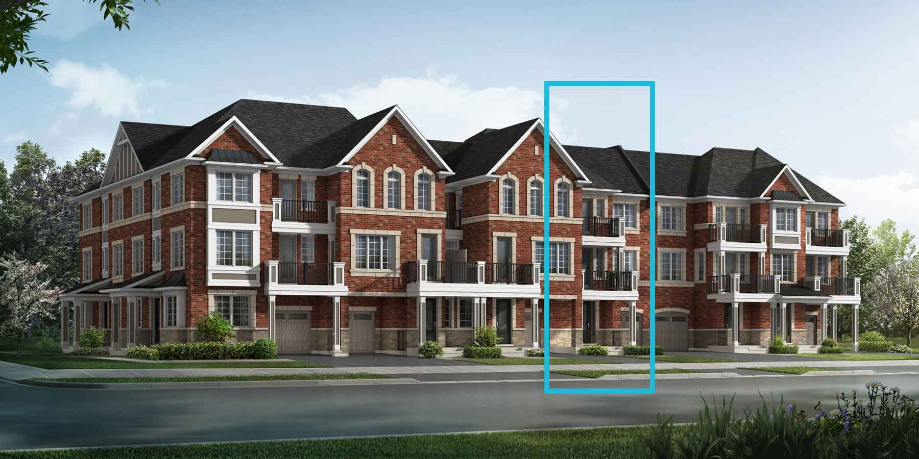 Daffodil Plan traditional_springwater_daffodil_main at Springwater in Markham Ontario by Mattamy Homes