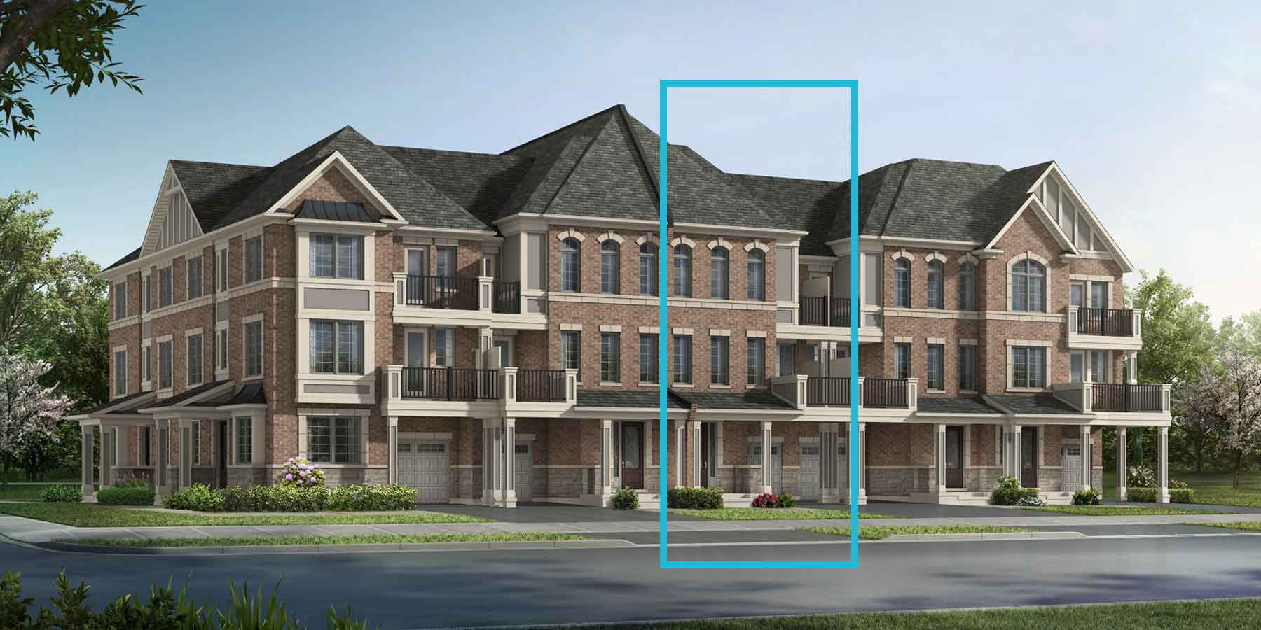 Springwater TownHomes in Markham Ontario by Mattamy Homes