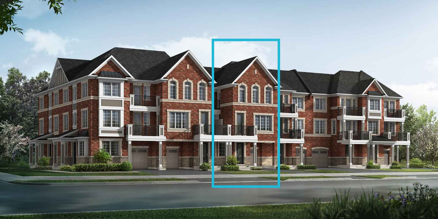 Honey Plan traditional_springwater_honey at Springwater in Markham Ontario by Mattamy Homes