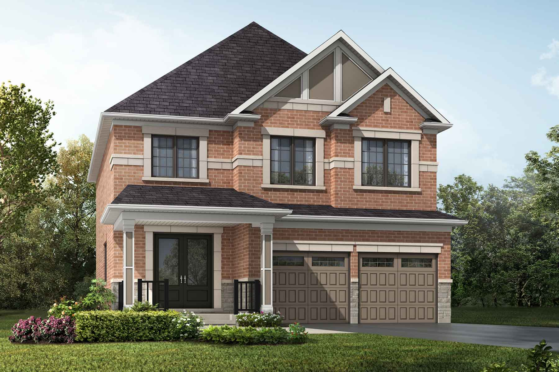 Springwater traditional_springwater_iris_main in Markham Ontario by Mattamy Homes