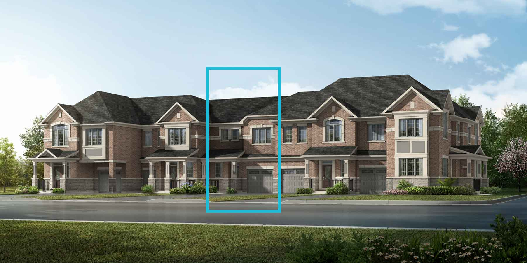 Jade Plan TownHomes at Springwater in Markham Ontario by Mattamy Homes
