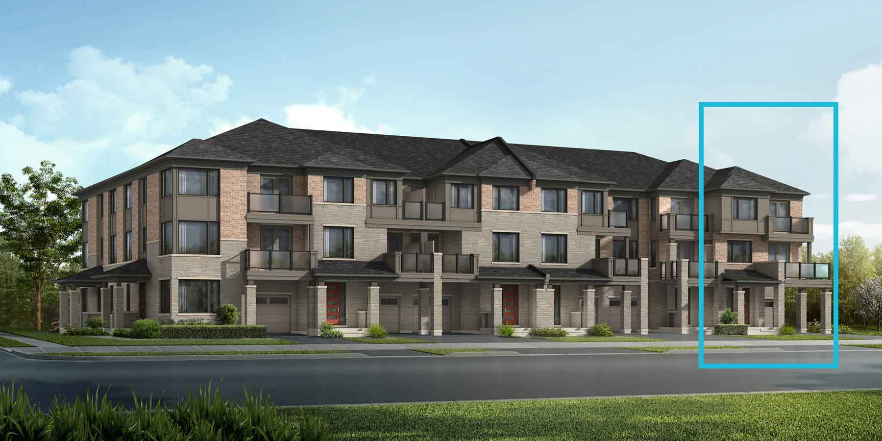 Laguna End Plan modern_springwater_lagunaend_main at Springwater in Markham Ontario by Mattamy Homes