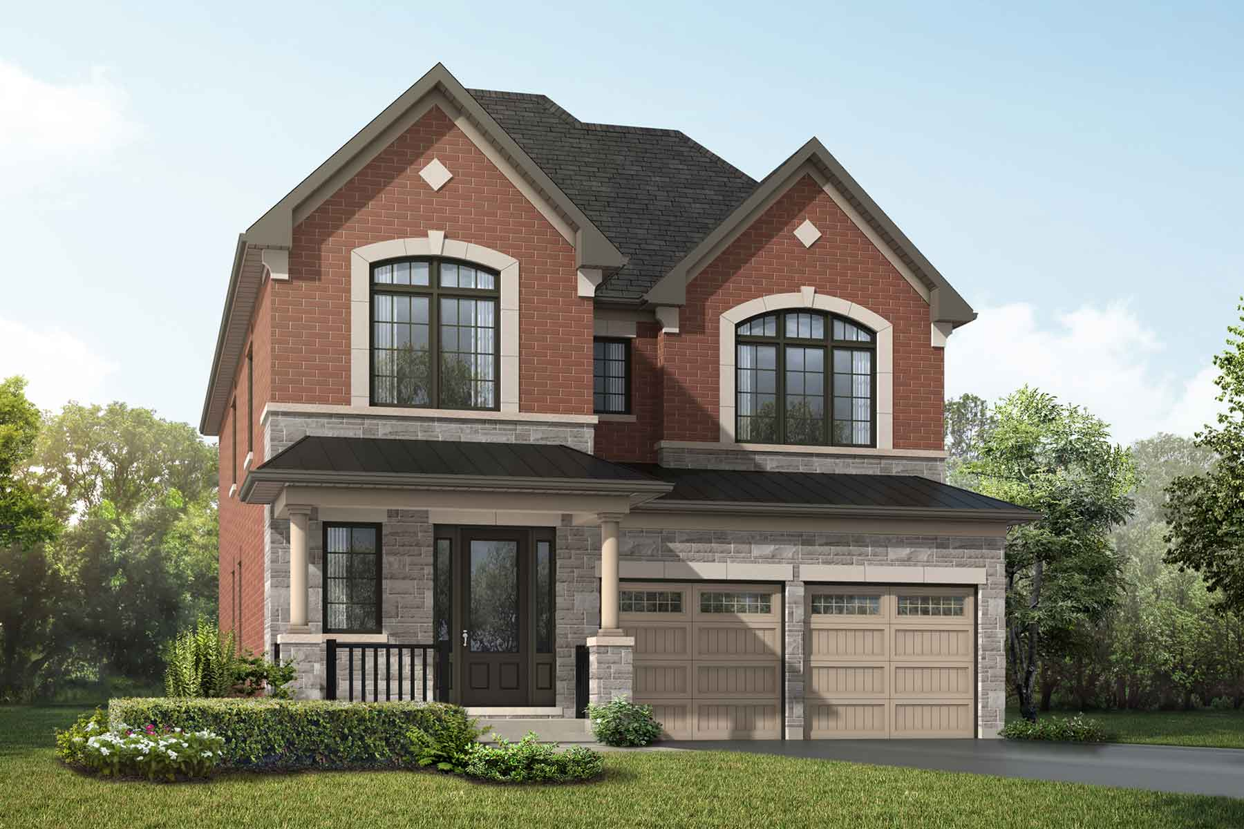 Lilac Plan englishmanor_springwater_lilac at Springwater in Markham Ontario by Mattamy Homes