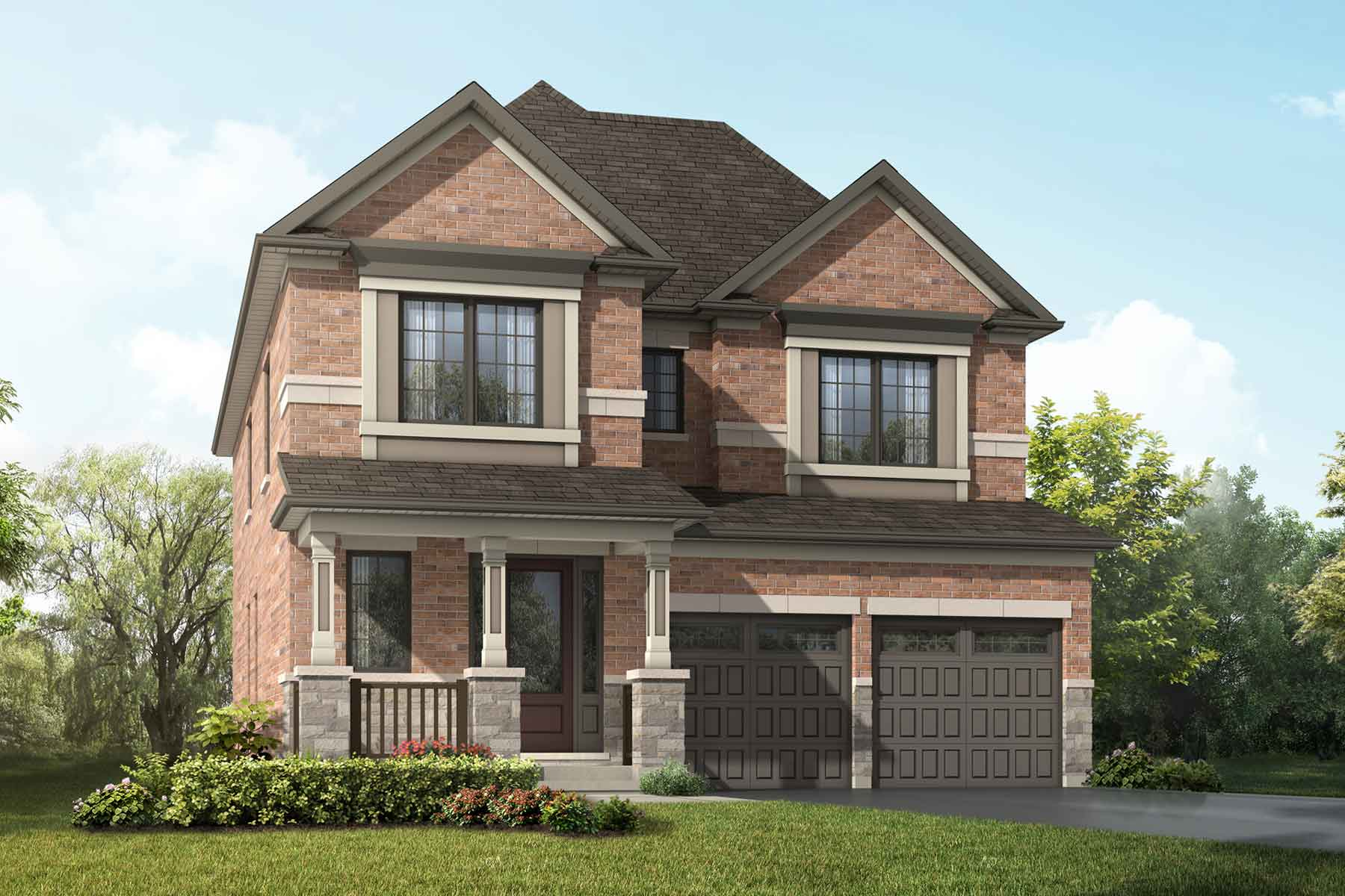 Lilac Plan traditional_springwater_lilac at Springwater in Markham Ontario by Mattamy Homes