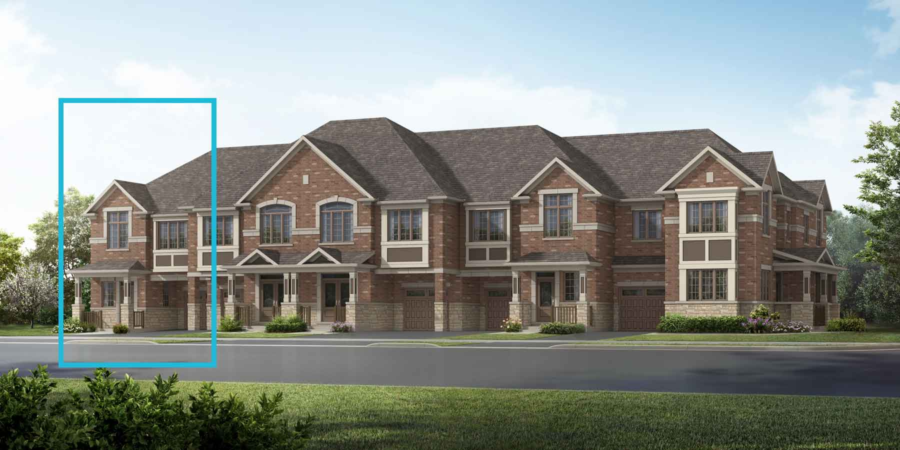 Mint End Plan traditional_springwater_mintend at Springwater in Markham Ontario by Mattamy Homes