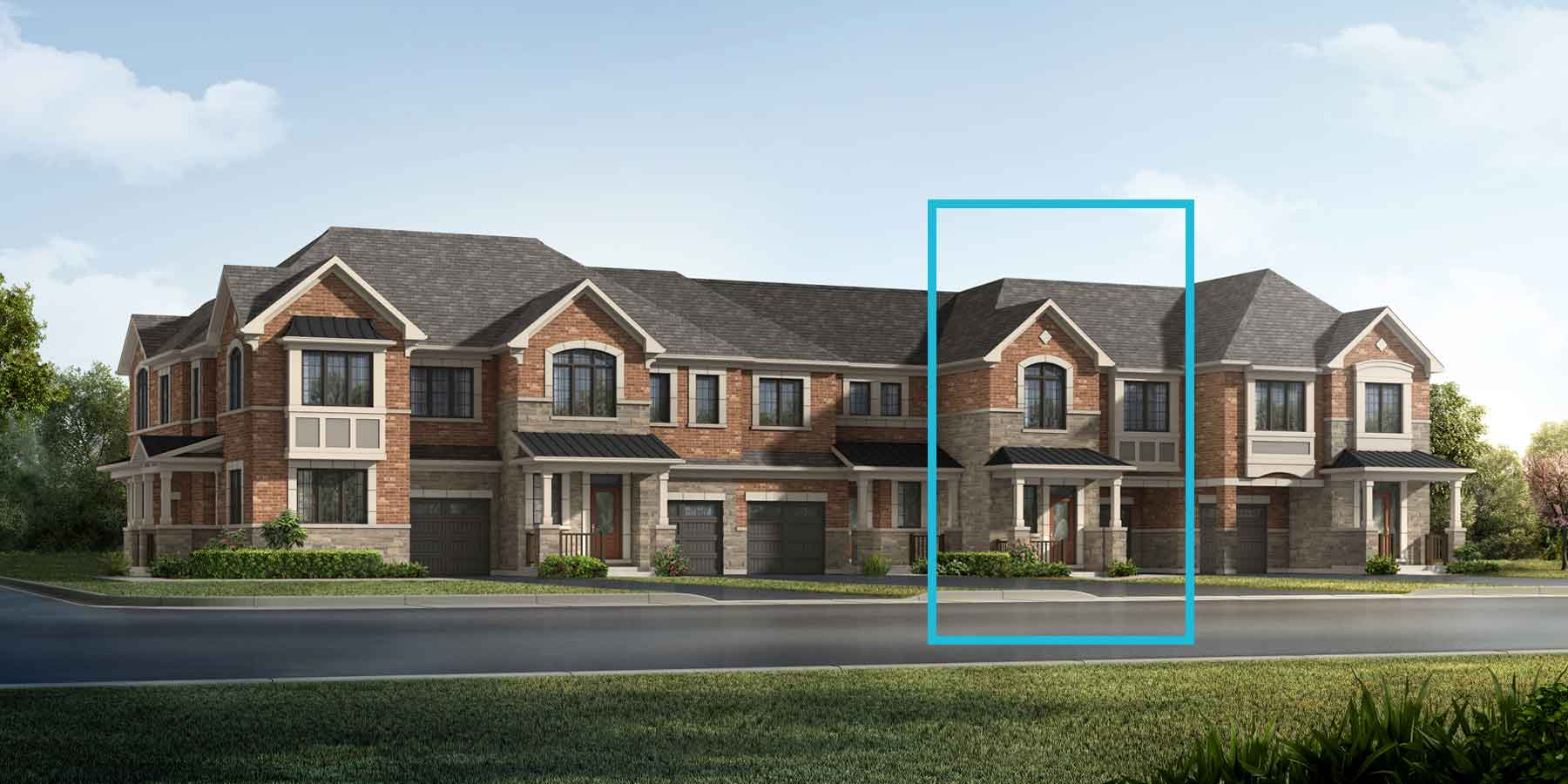 Mint Plan englishmanor_springwater_mint at Springwater in Markham Ontario by Mattamy Homes
