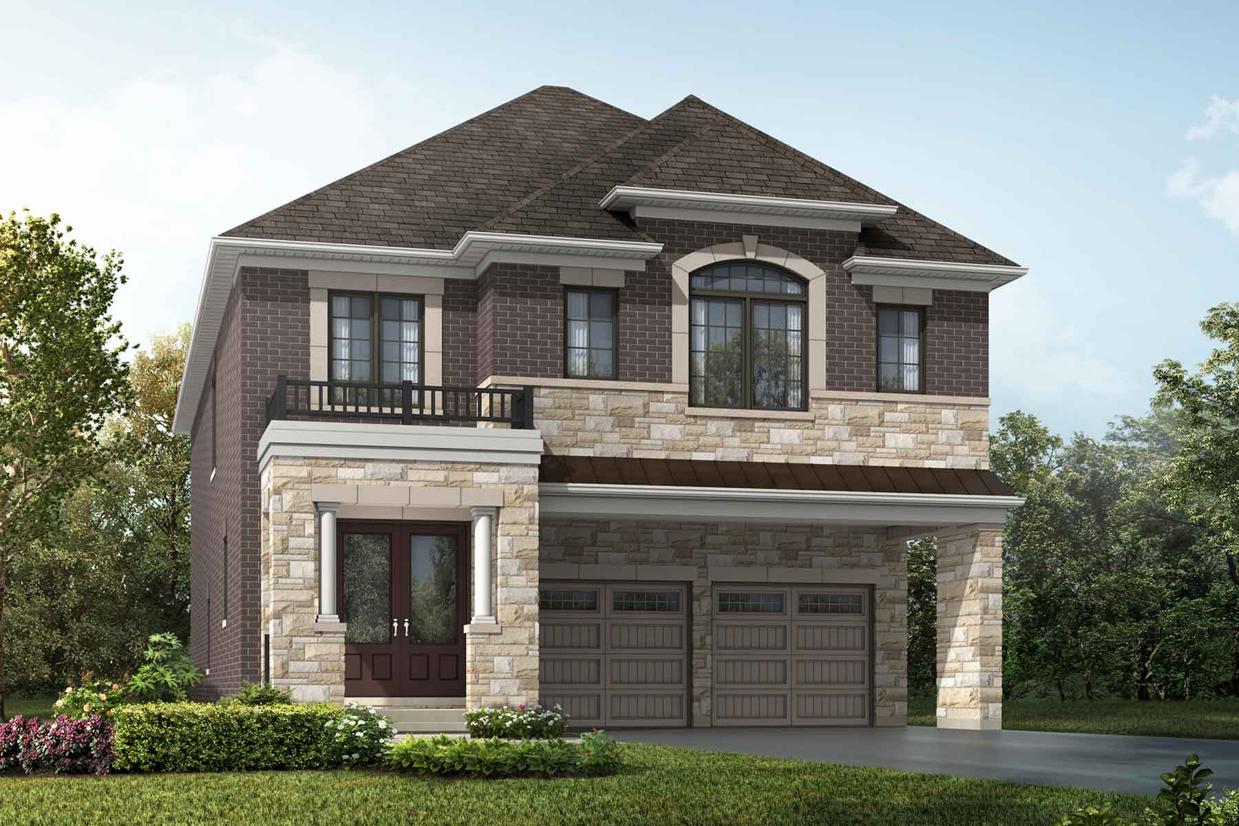 Mulberry Plan englishmanor_springwater_mulberry at Springwater in Markham Ontario by Mattamy Homes