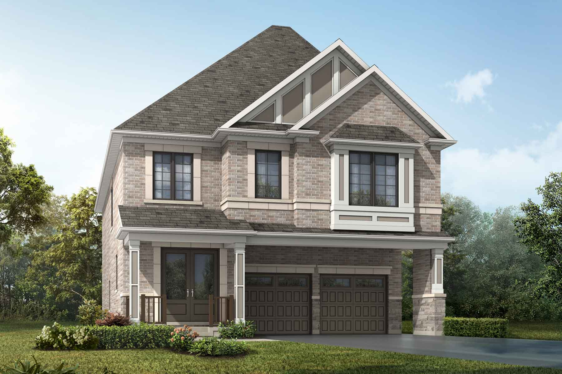 Mulberry Plan traditional_springwater_mulberry_main at Springwater in Markham Ontario by Mattamy Homes