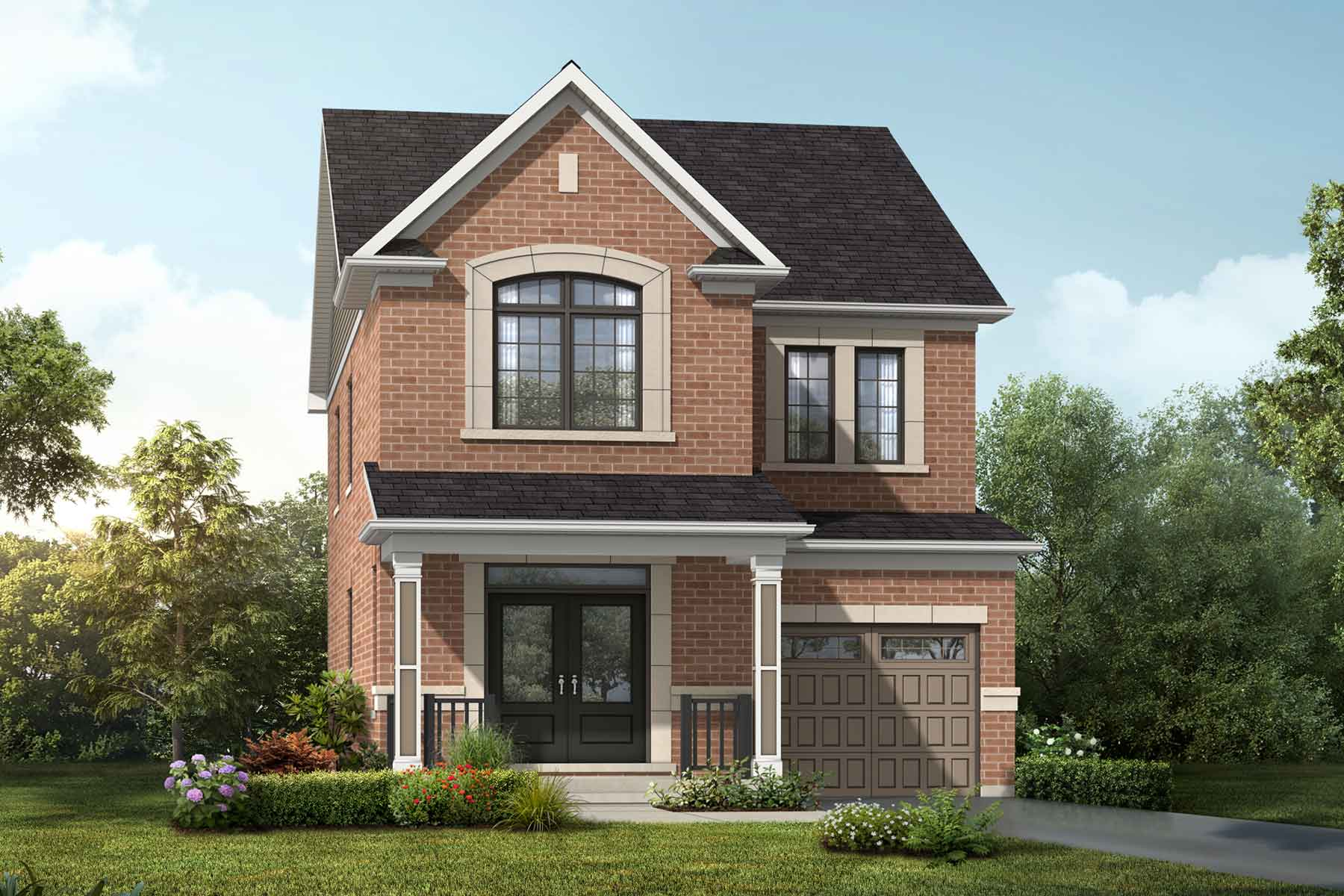 Navy Plan traditional_springwater_navy_main at Springwater in Markham Ontario by Mattamy Homes