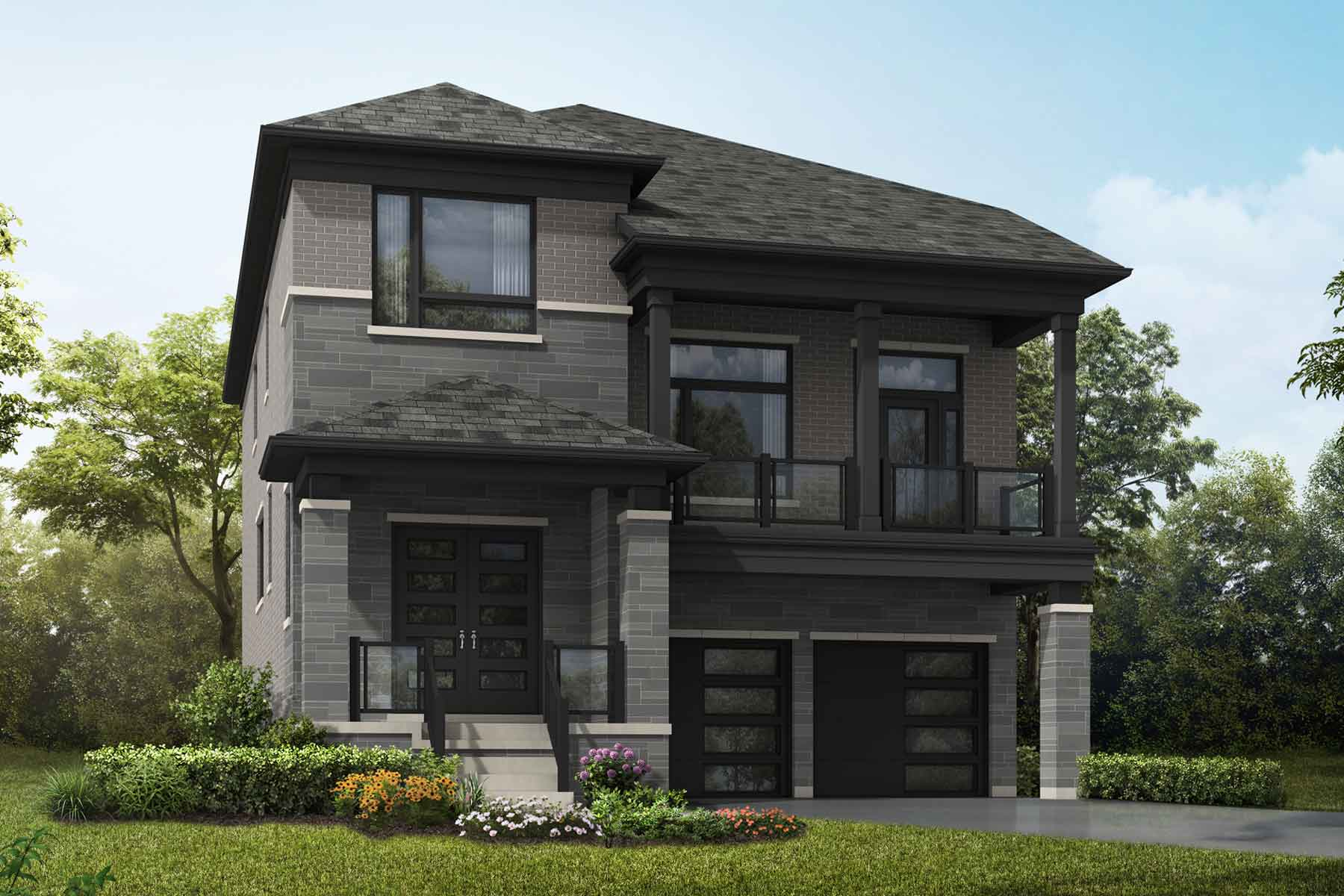 Orchid Plan modern_springwater_orchid at Springwater in Markham Ontario by Mattamy Homes