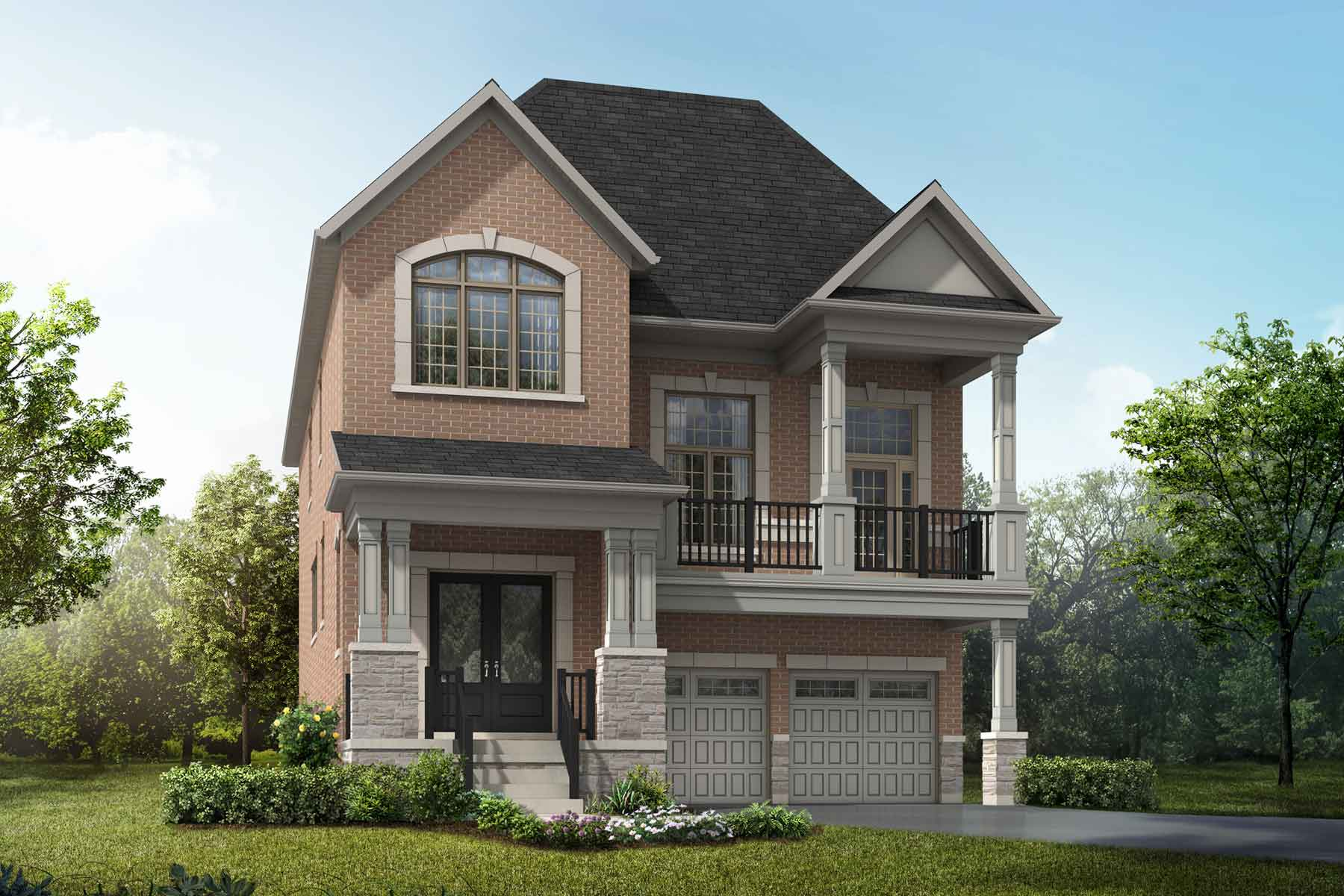 Orchid Plan traditional_springwater_orchid at Springwater in Markham Ontario by Mattamy Homes