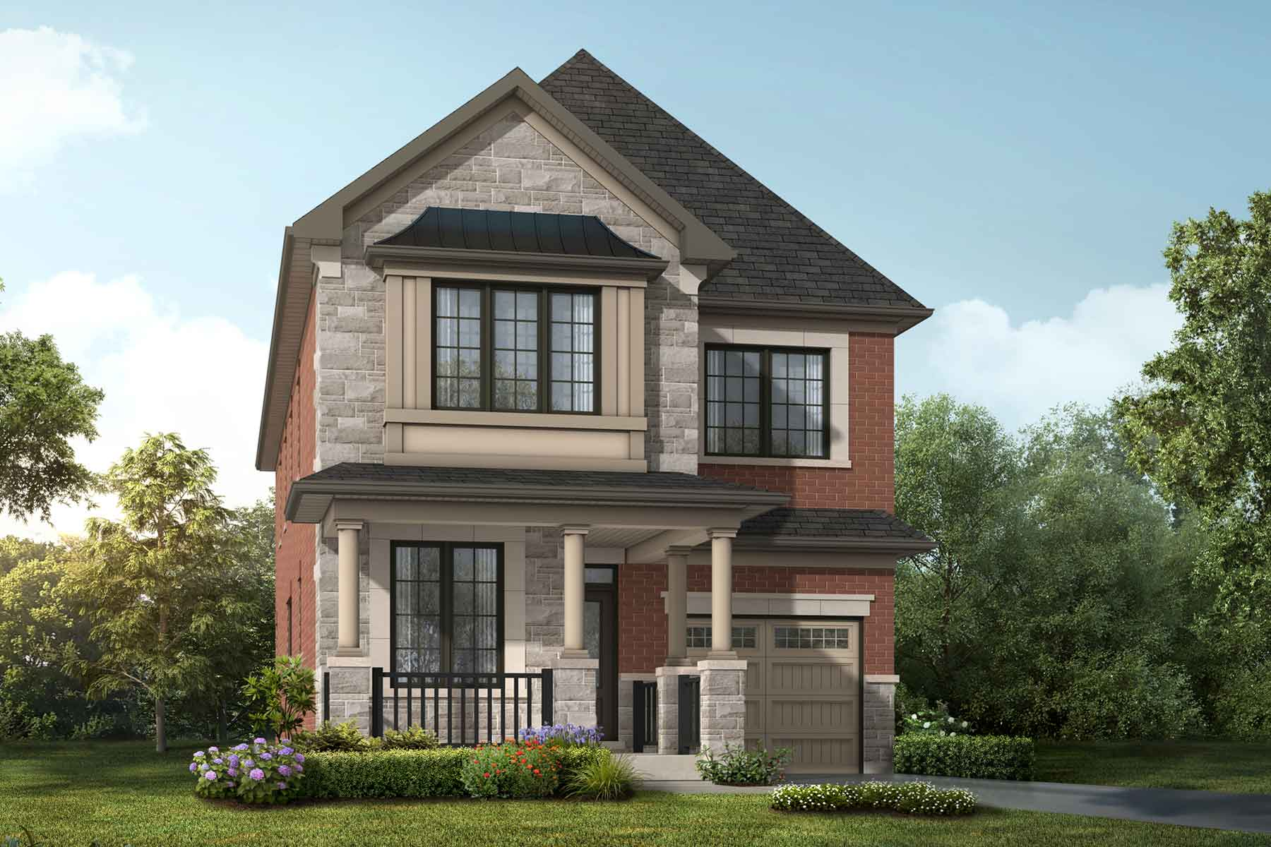 Sky Plan englishmanor_springwater_sky at Springwater in Markham Ontario by Mattamy Homes